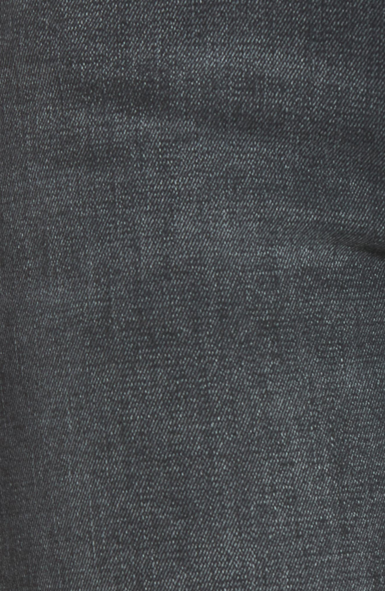 The Looker Mid Rise Skinny Jeans,                             Alternate thumbnail 6, color,                             NIGHT HAWK