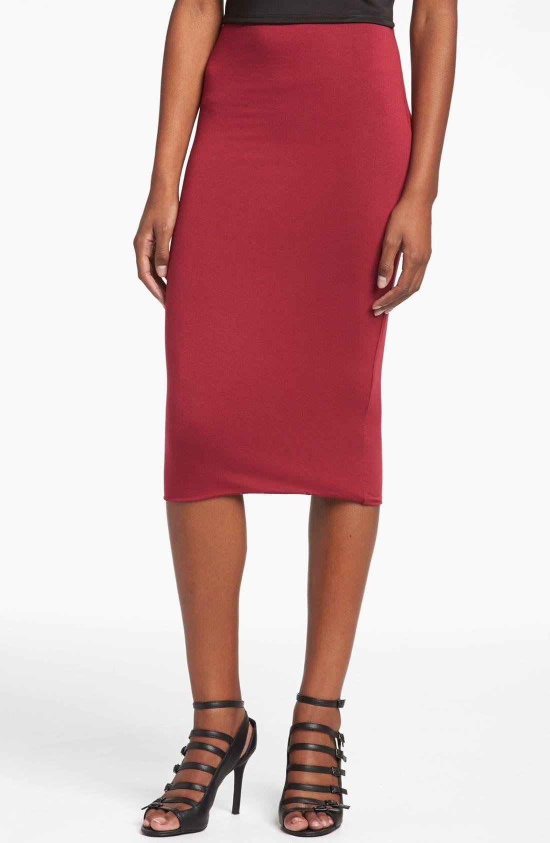 Double Layered Tube Skirt,                             Main thumbnail 7, color,