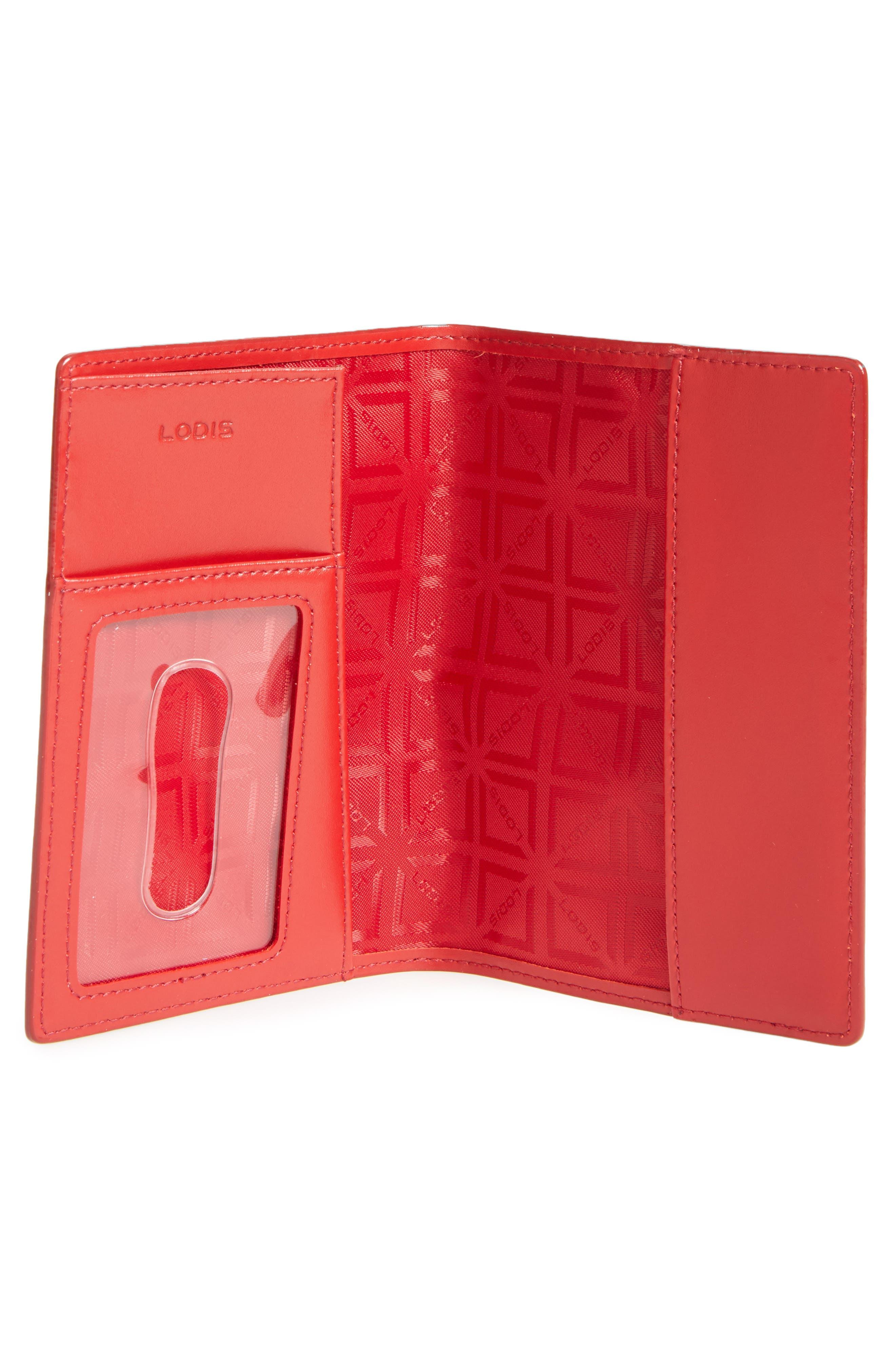 Lodis 'Audrey' Passport Case,                             Alternate thumbnail 2, color,                             001