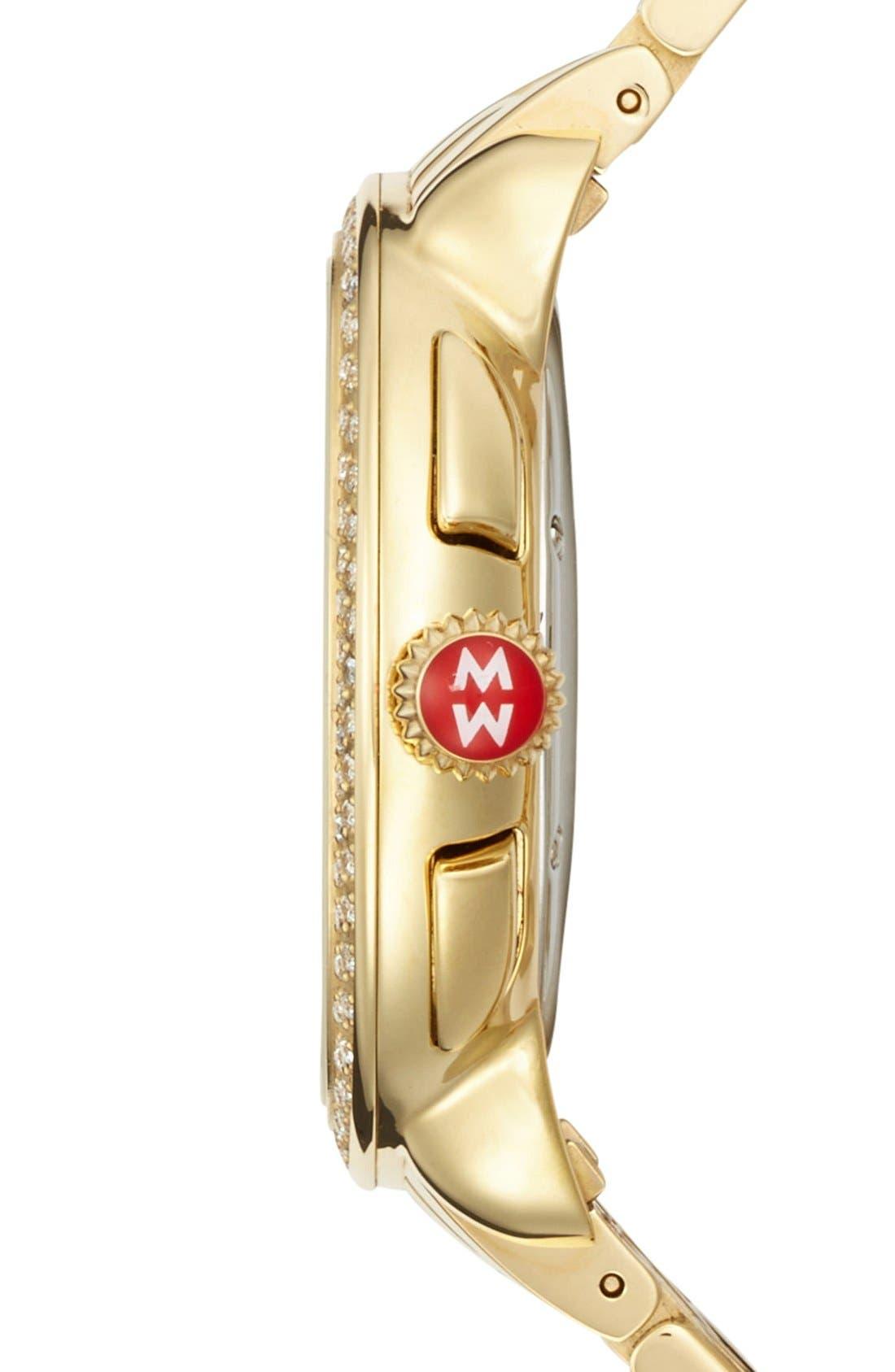 'Serein' 18mm Watch Bracelet Band,                             Alternate thumbnail 6, color,                             GOLD