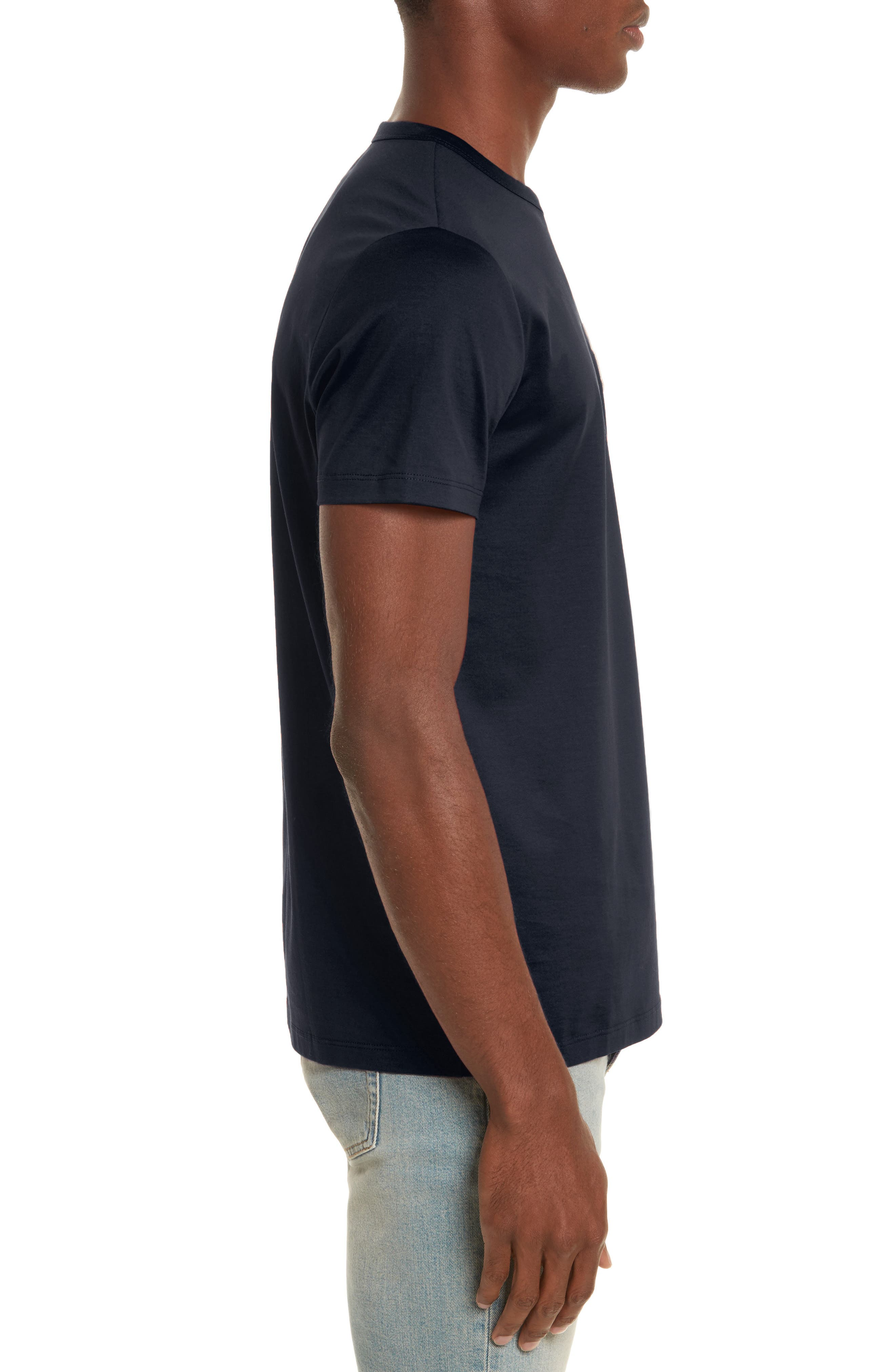 Patch T-Shirt,                             Alternate thumbnail 3, color,                             NAVY