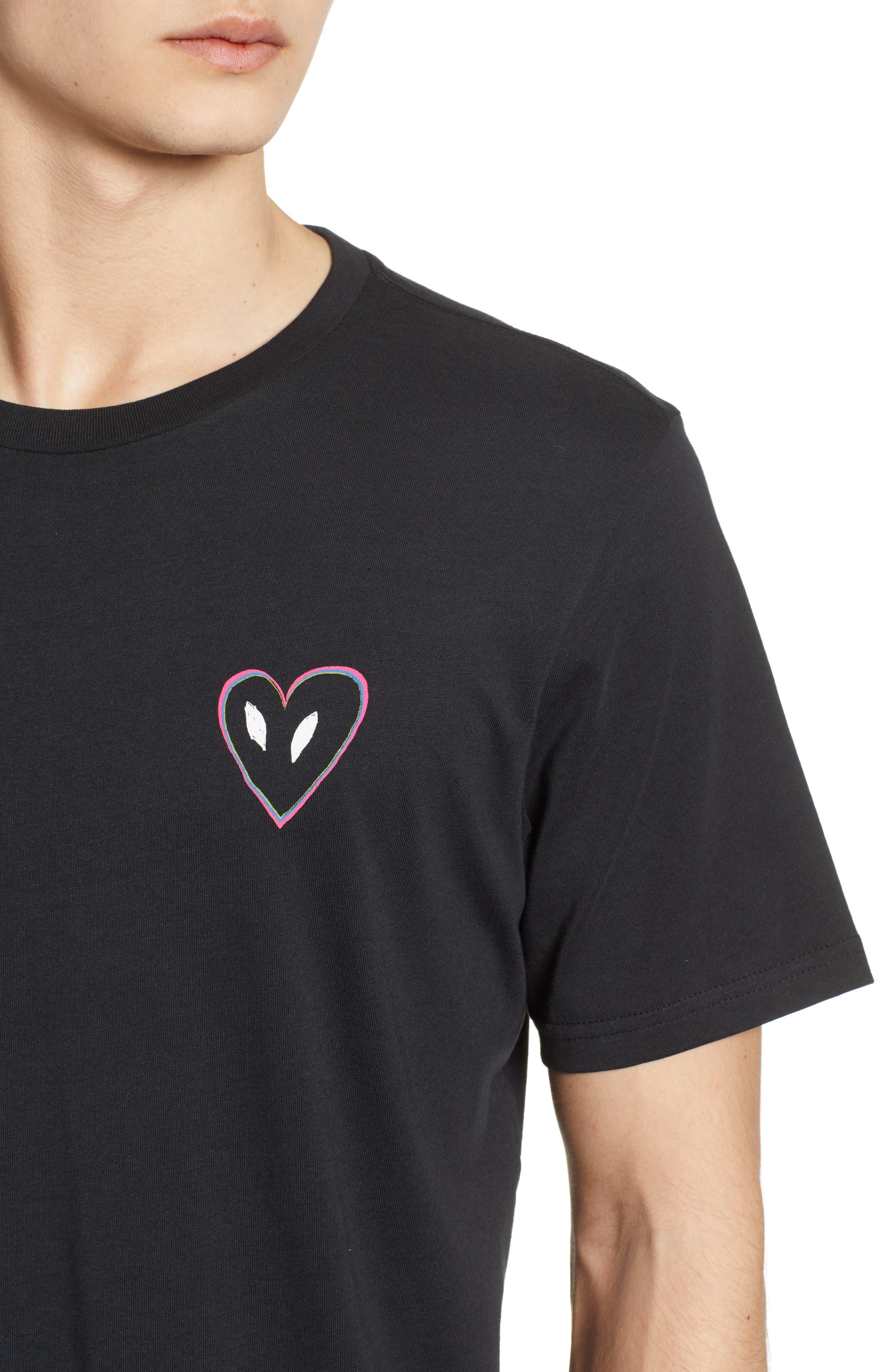 Love Graphic T-Shirt,                             Alternate thumbnail 7, color,