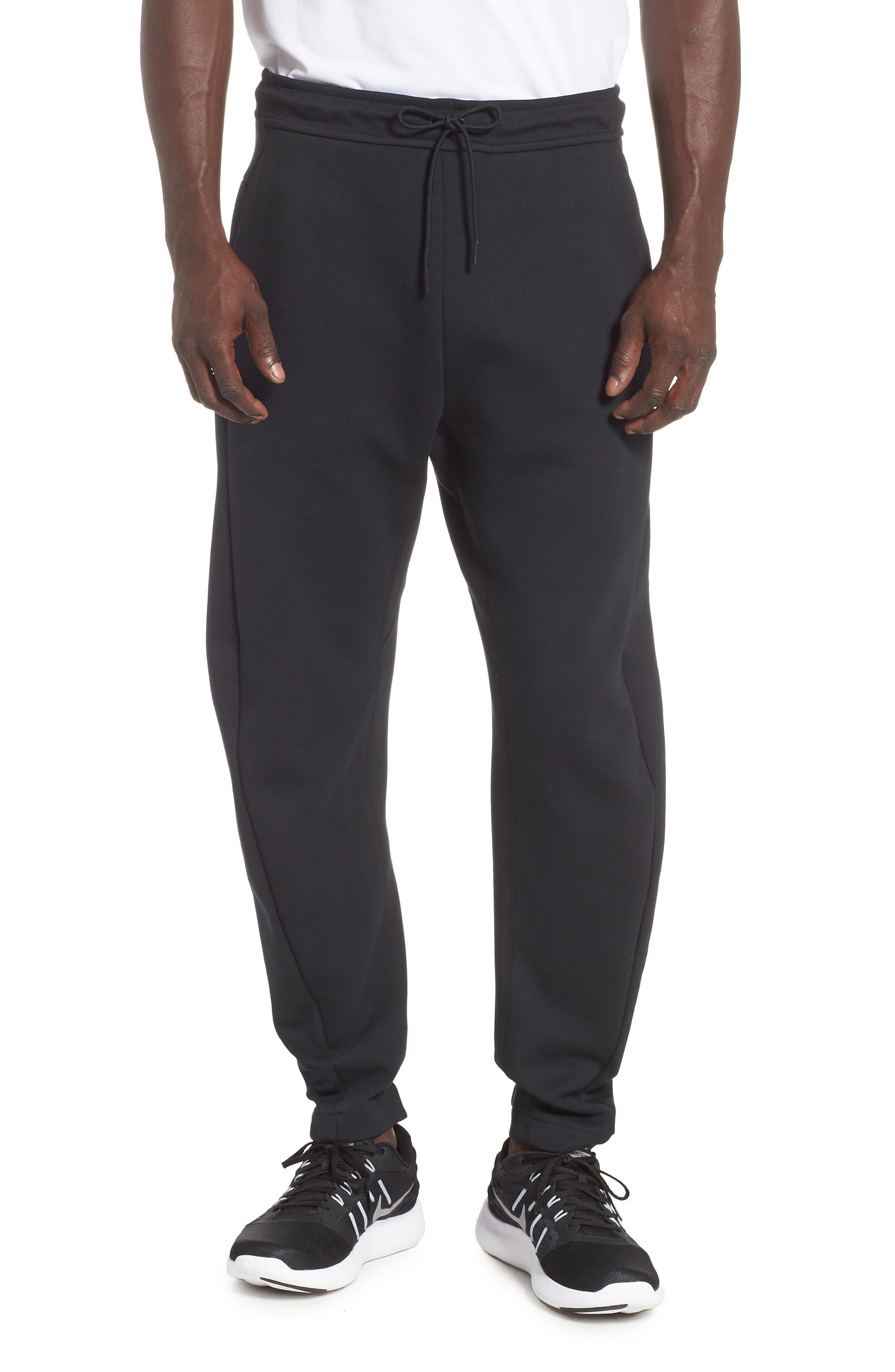 Tech Fleece Pants,                             Main thumbnail 1, color,                             BLACK/ BLACK