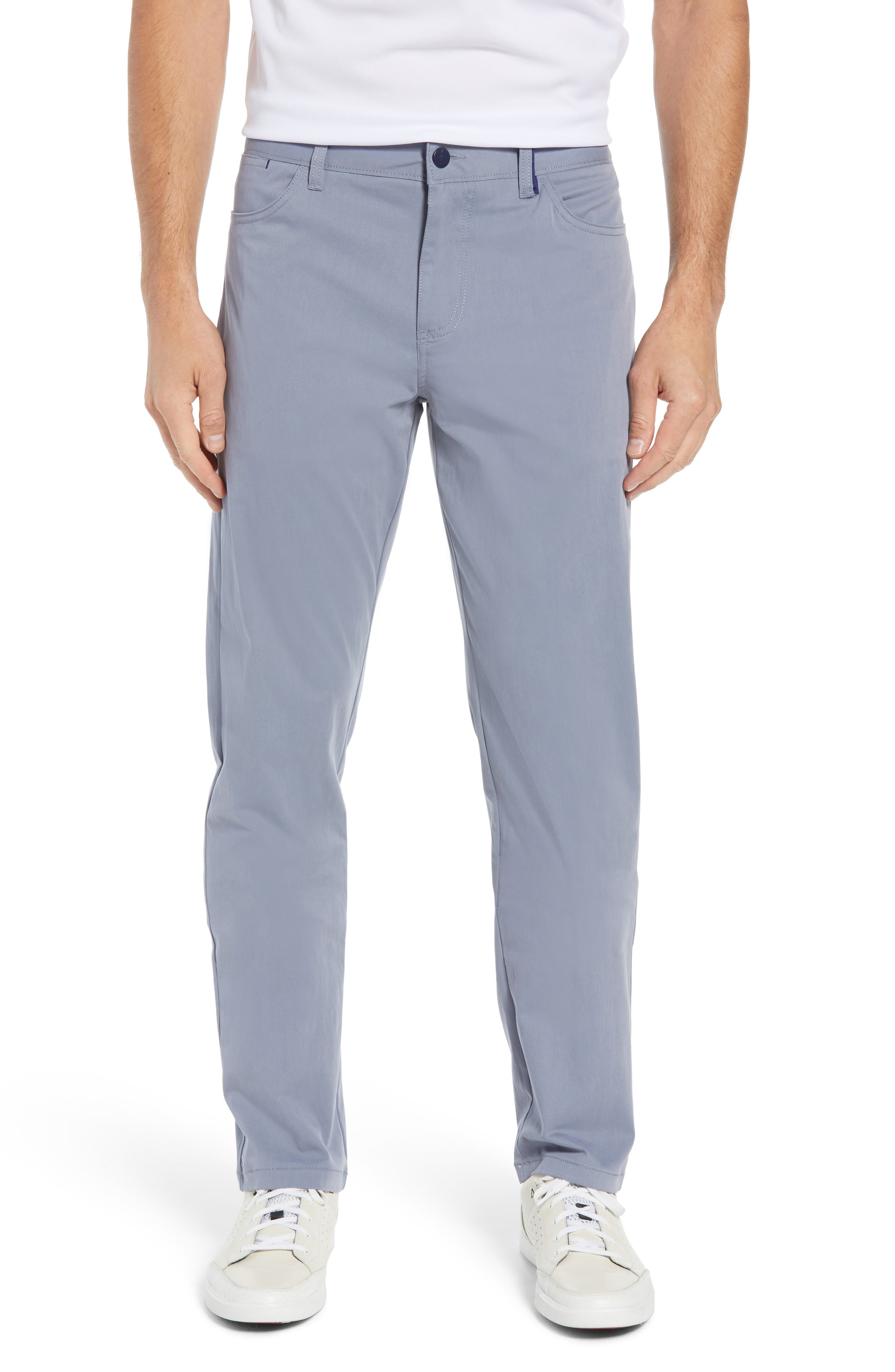 Marin Straight Leg Pants, Main, color, CLOUDBREAK