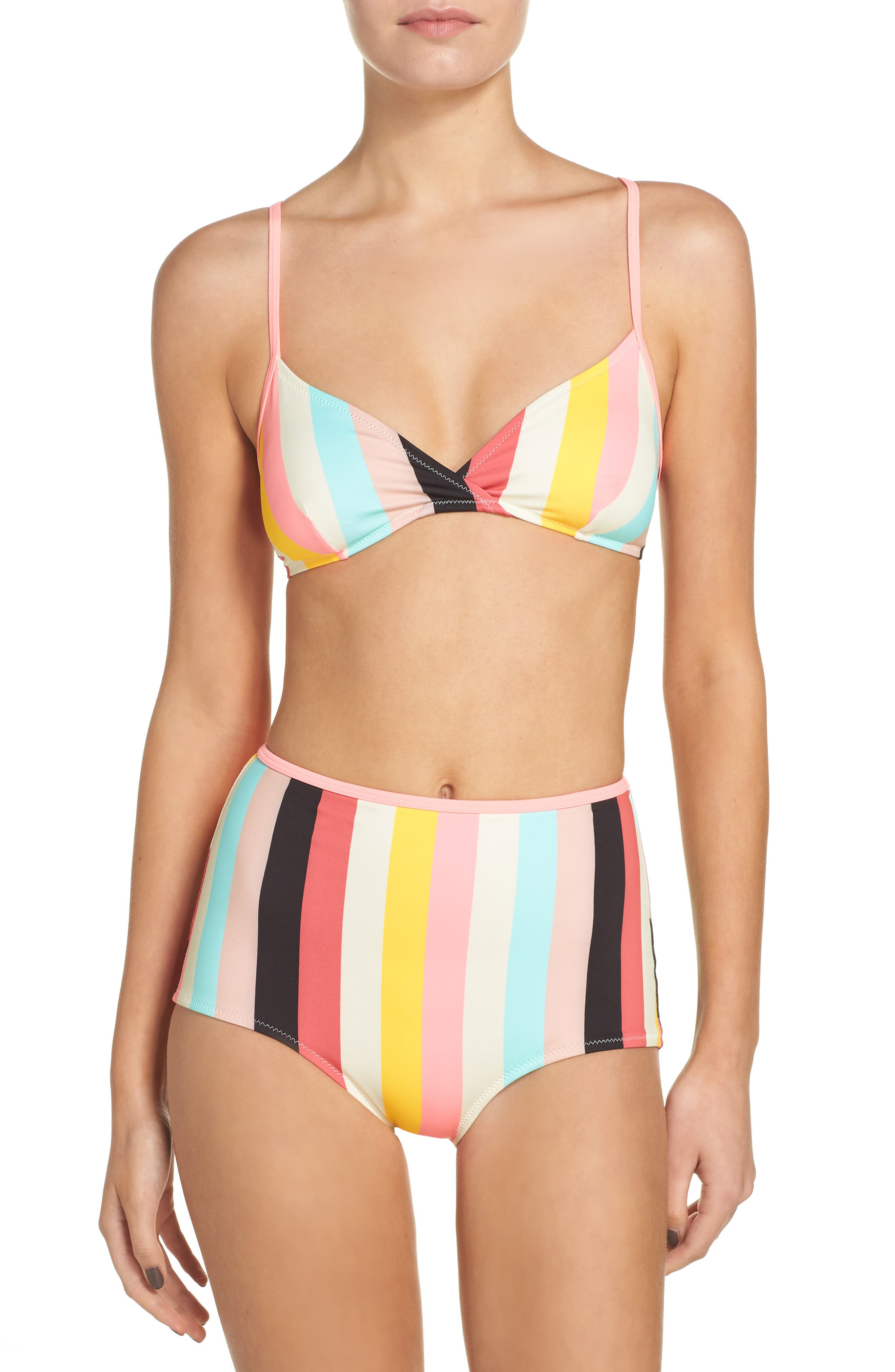 Brigitte Bikini Top,                             Alternate thumbnail 6, color,                             650