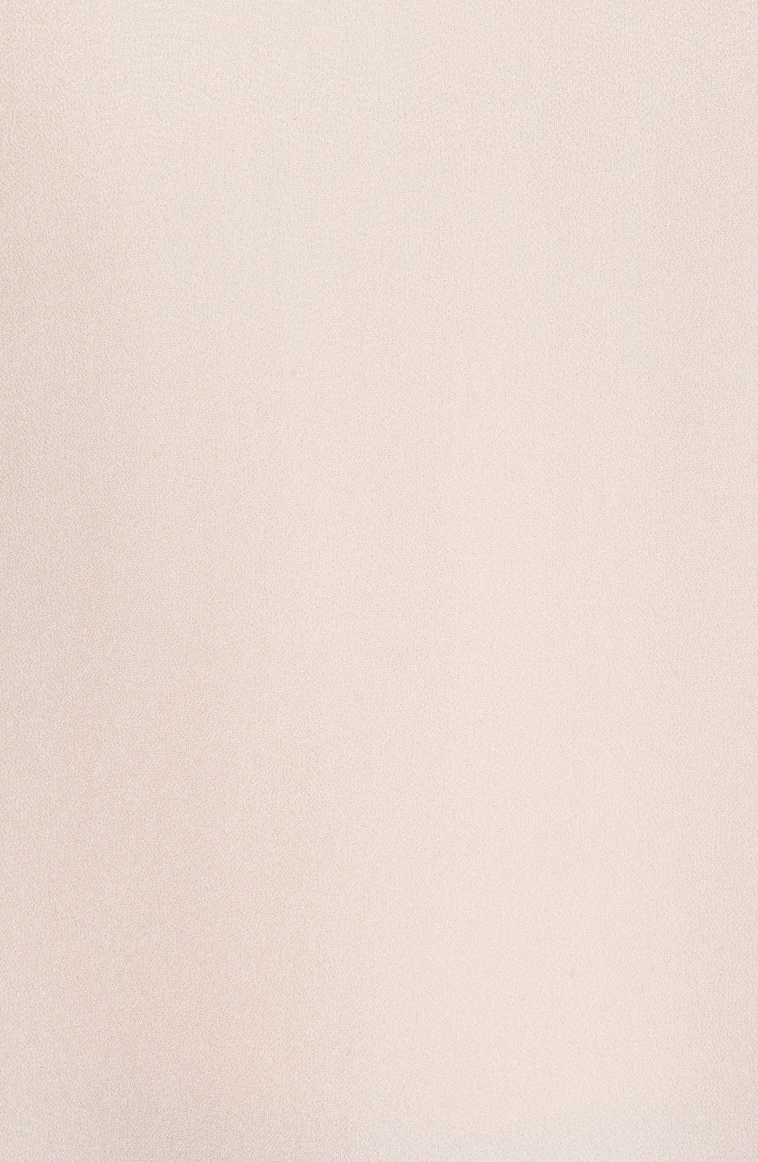 Tie Sleeve Ruffle Blouse,                             Alternate thumbnail 5, color,