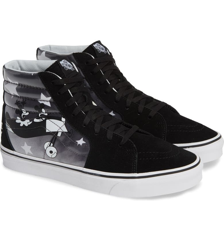 926c24b9dd281c Vans X Disney Mickey S 90Th Anniversary Sk8-Hi Sneaker In Disney Plane  Crazy  True