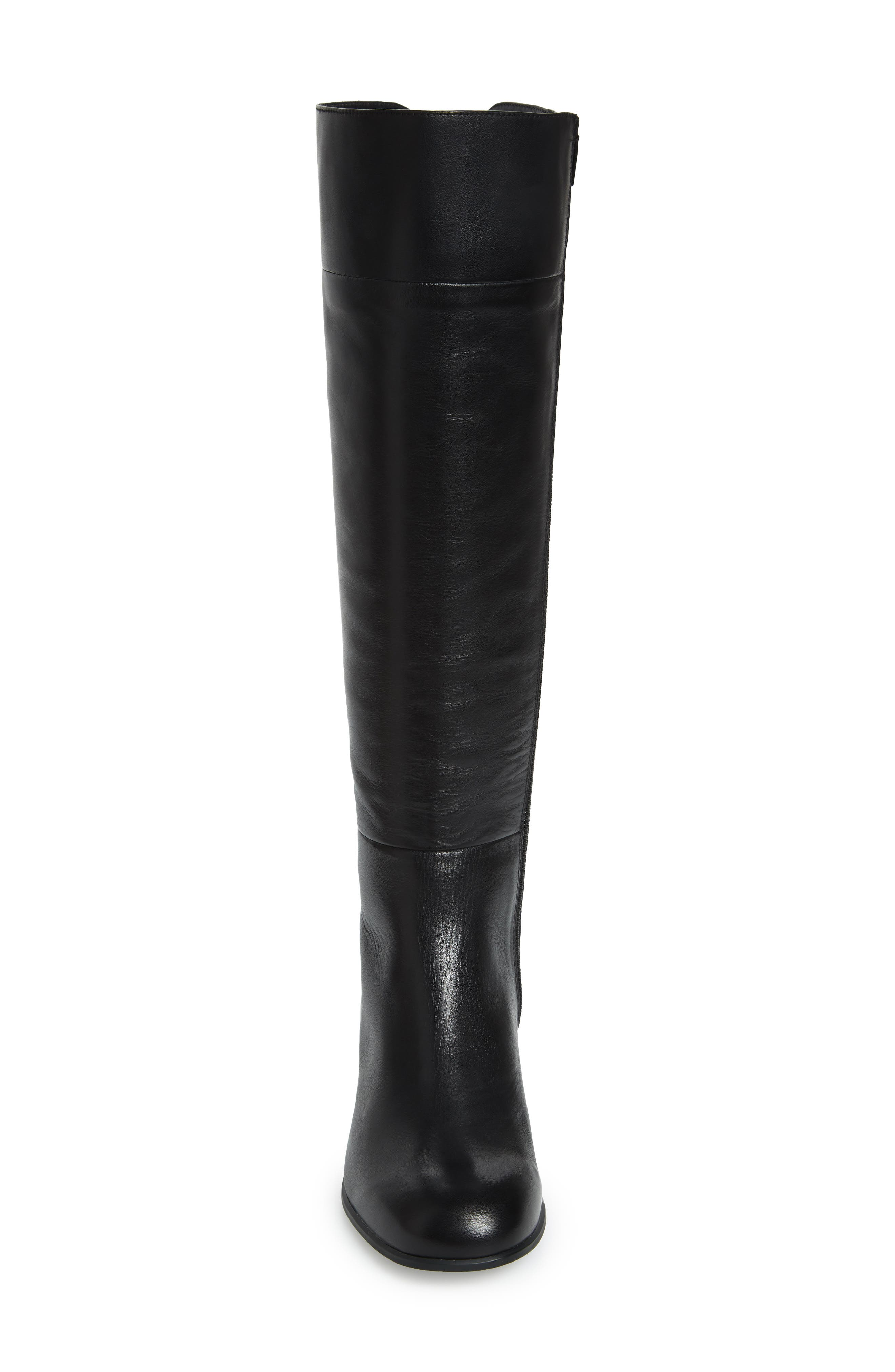 Katie Knee High Boot,                             Alternate thumbnail 4, color,                             001