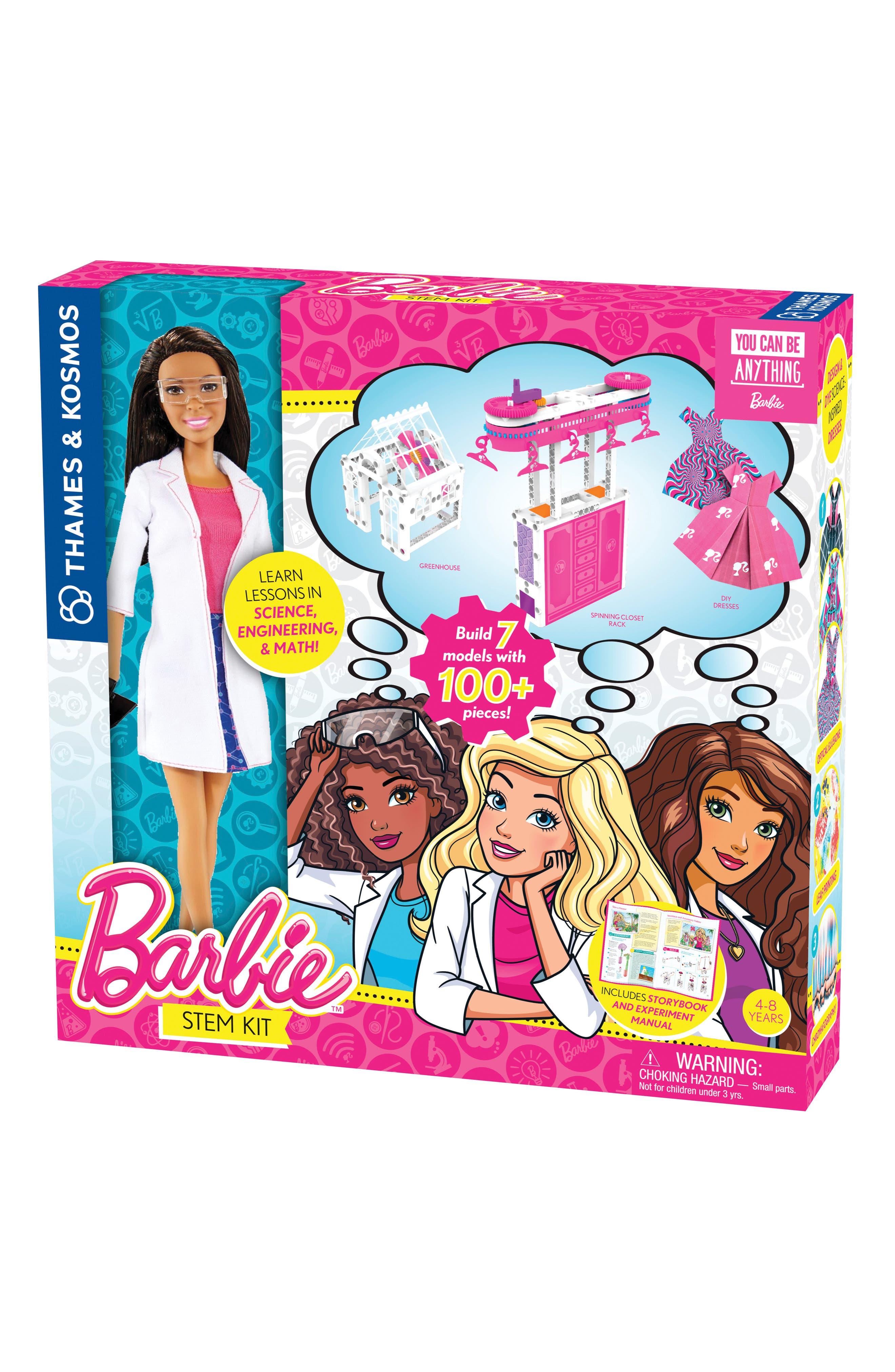 Barbie<sup>®</sup> Nikki STEM Kit & Doll Set,                             Main thumbnail 1, color,                             PINK