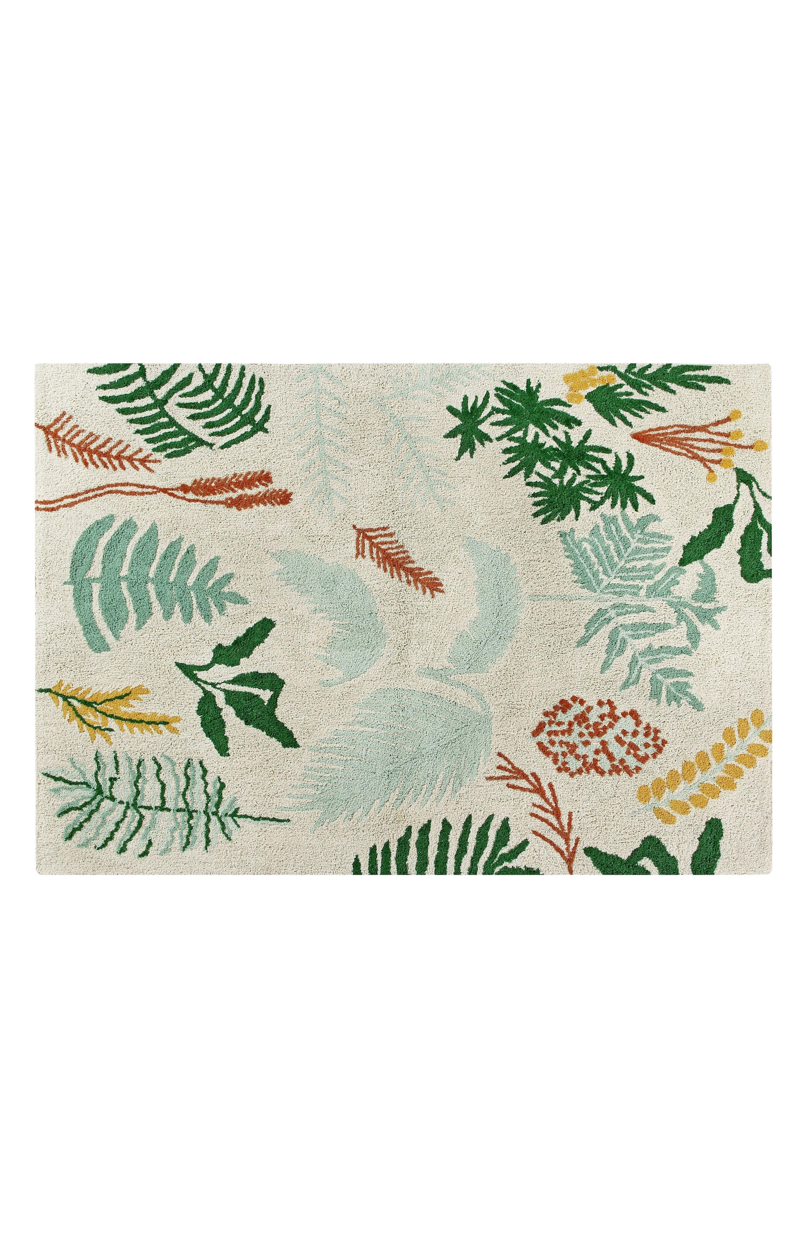 Botanical Rug,                         Main,                         color, 900