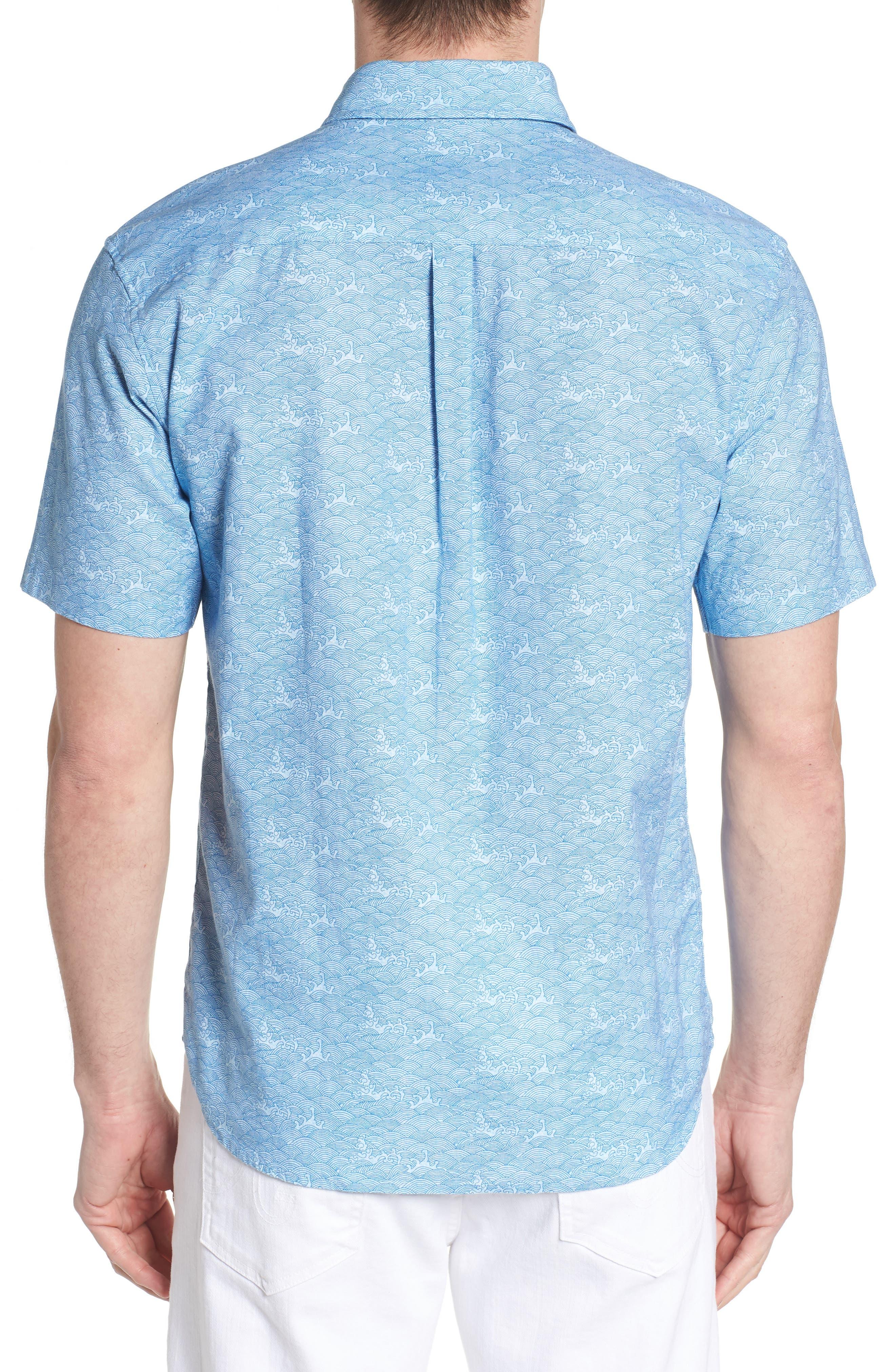 Cole Regular Fit Sport Shirt,                             Alternate thumbnail 2, color,
