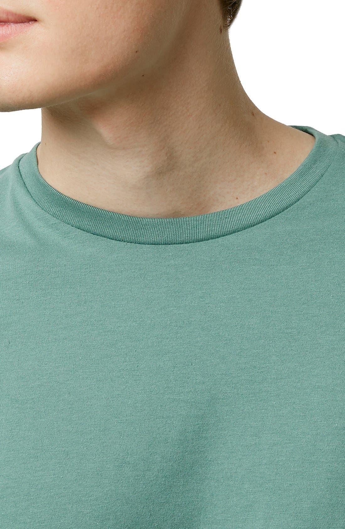 Slim Fit Crewneck T-Shirt,                             Alternate thumbnail 151, color,
