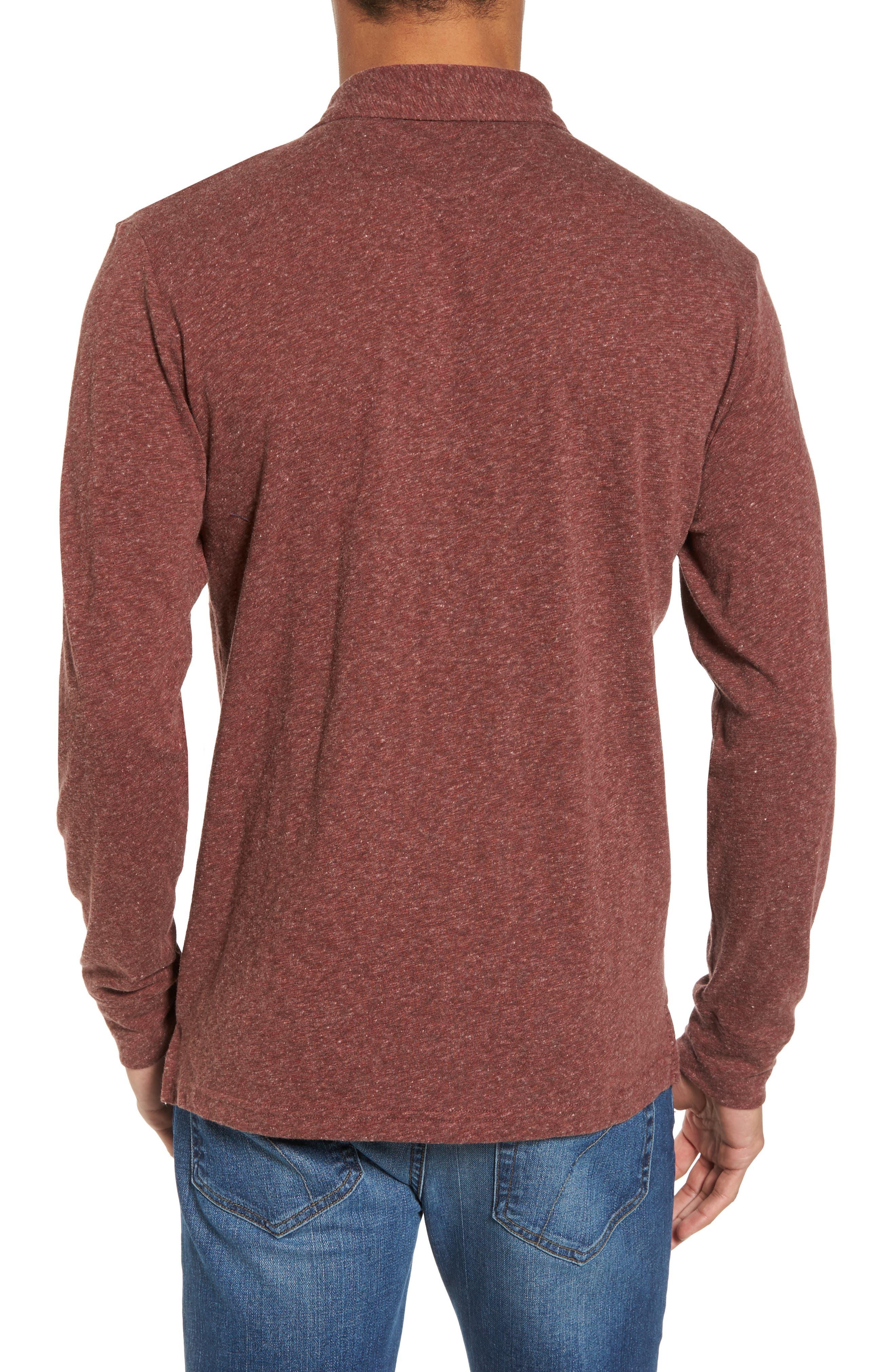 Long Sleeve Polo,                             Alternate thumbnail 2, color,                             930