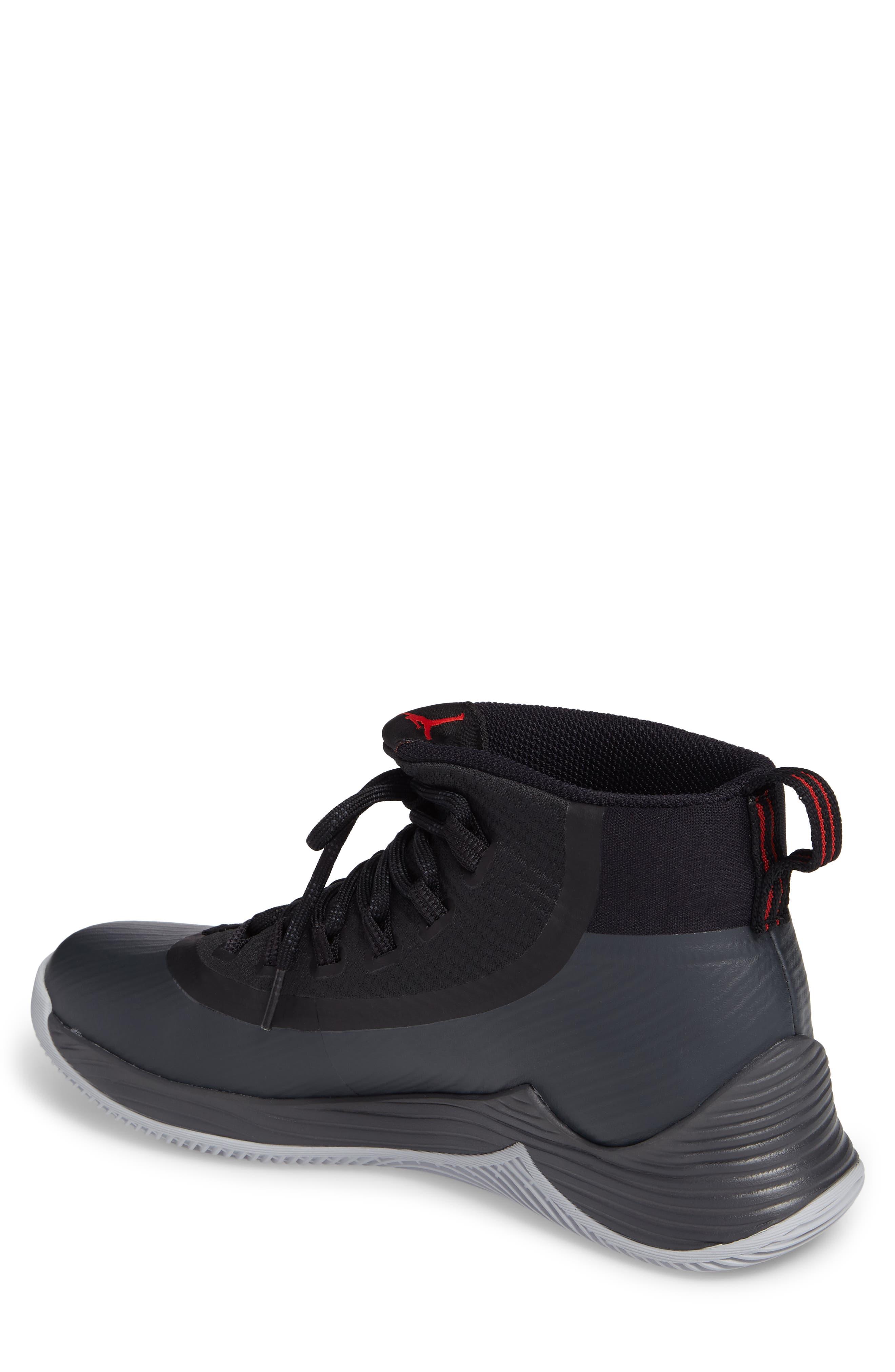 Jordan Ultra Fly 2 Basketball Shoe,                             Alternate thumbnail 2, color,                             002