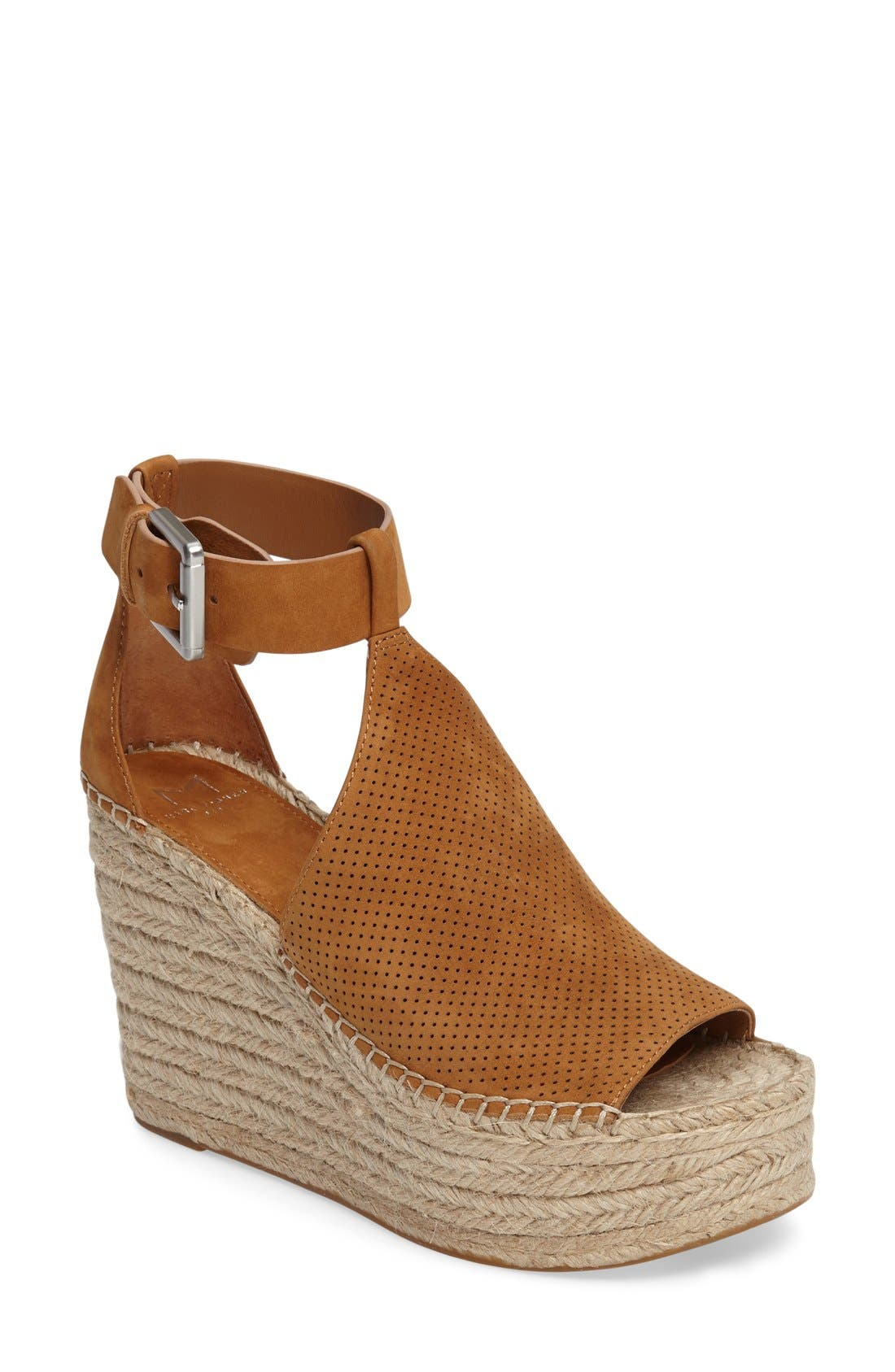Annie Perforated Espadrille Platform Wedge,                             Main thumbnail 5, color,