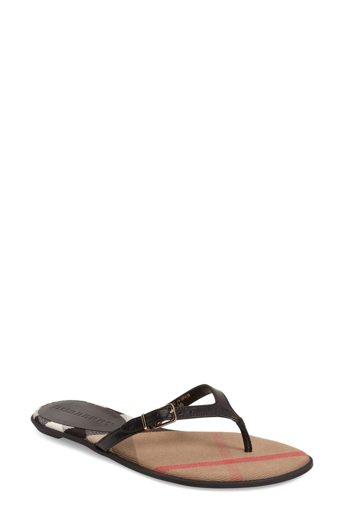 'Meadow' Sandal,                         Main,                         color, 001