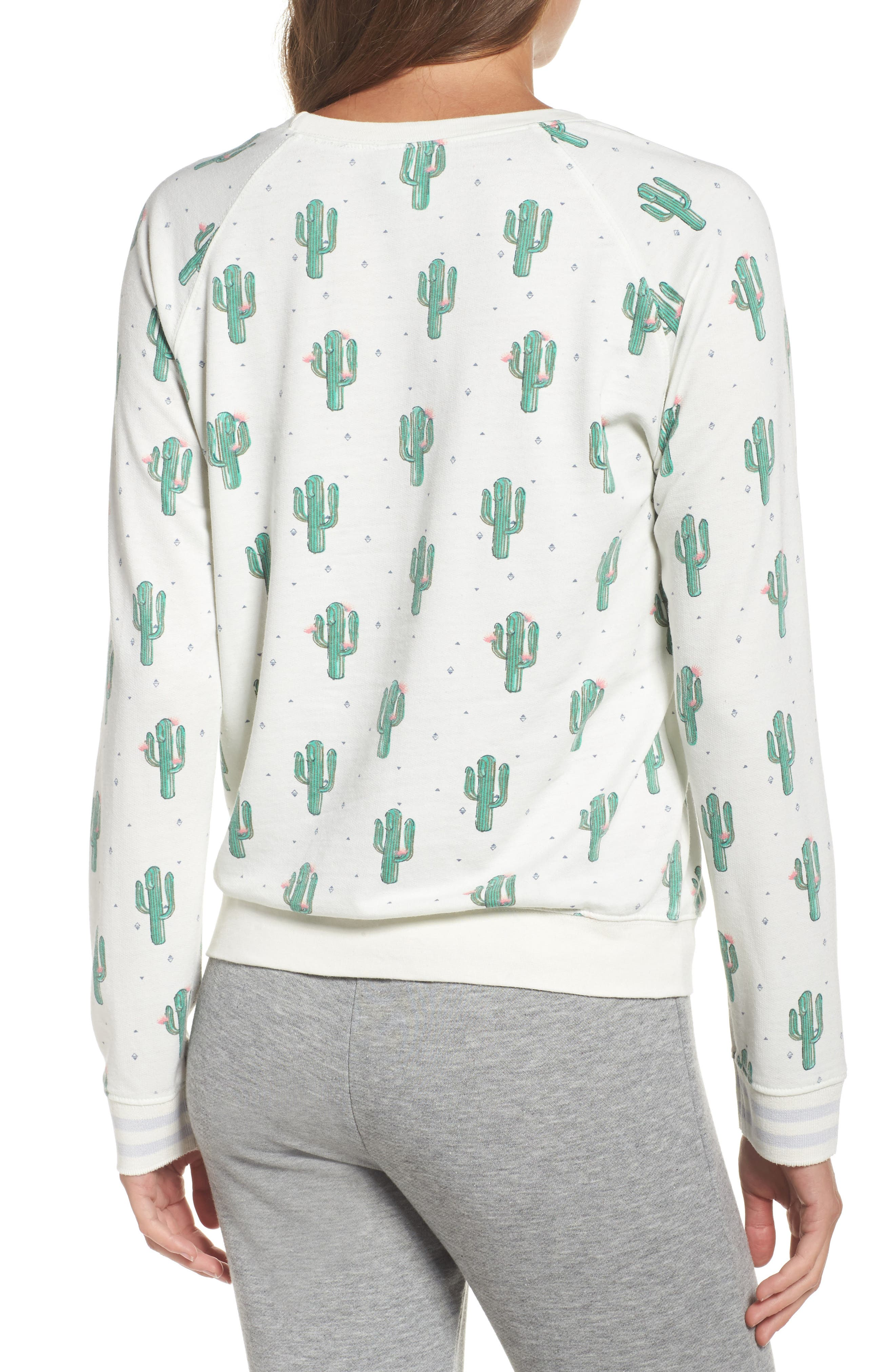 Burnout Lounge Sweatshirt,                             Alternate thumbnail 70, color,