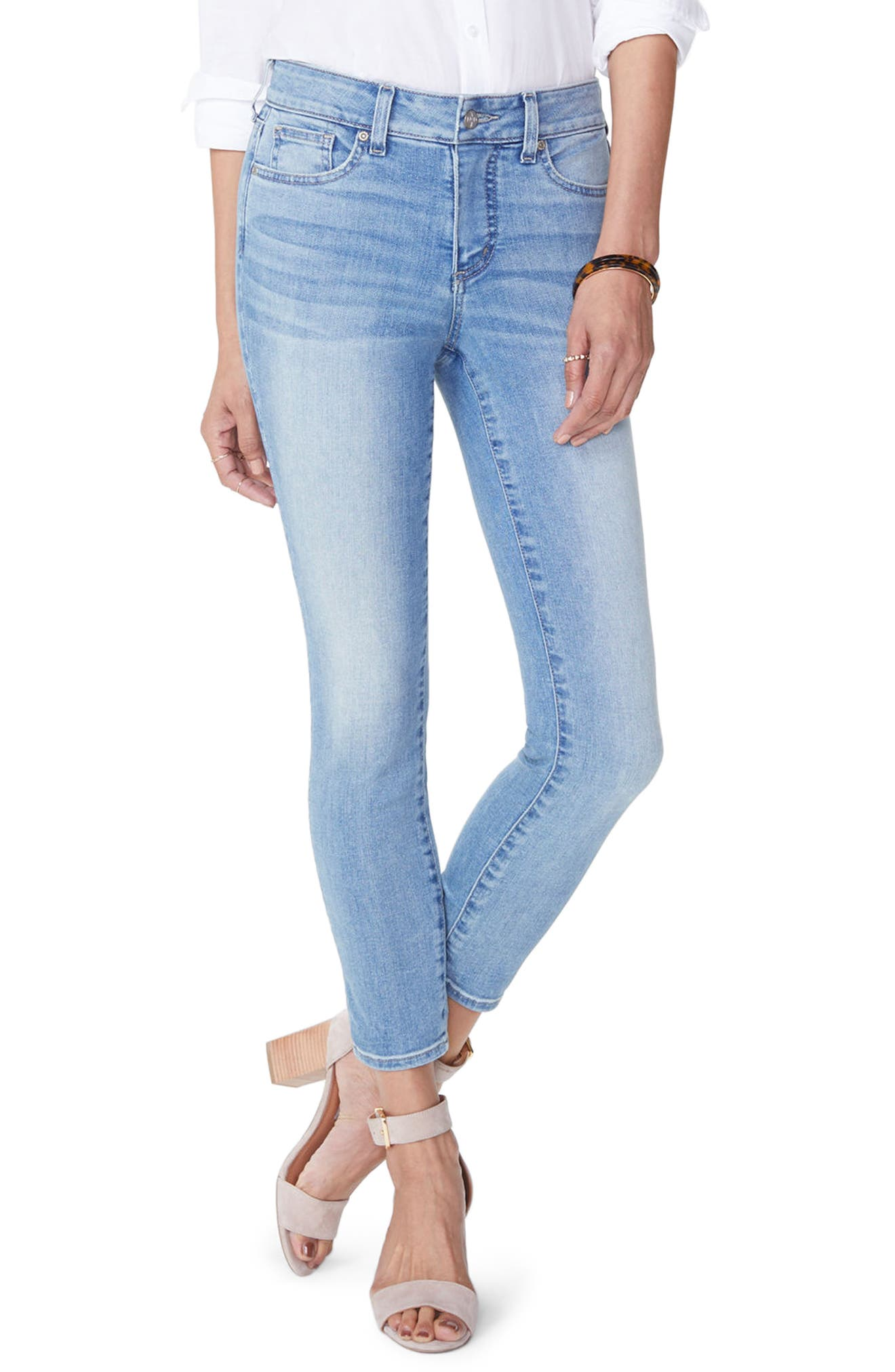 Alina Stretch Skinny Jeans,                         Main,                         color, 418