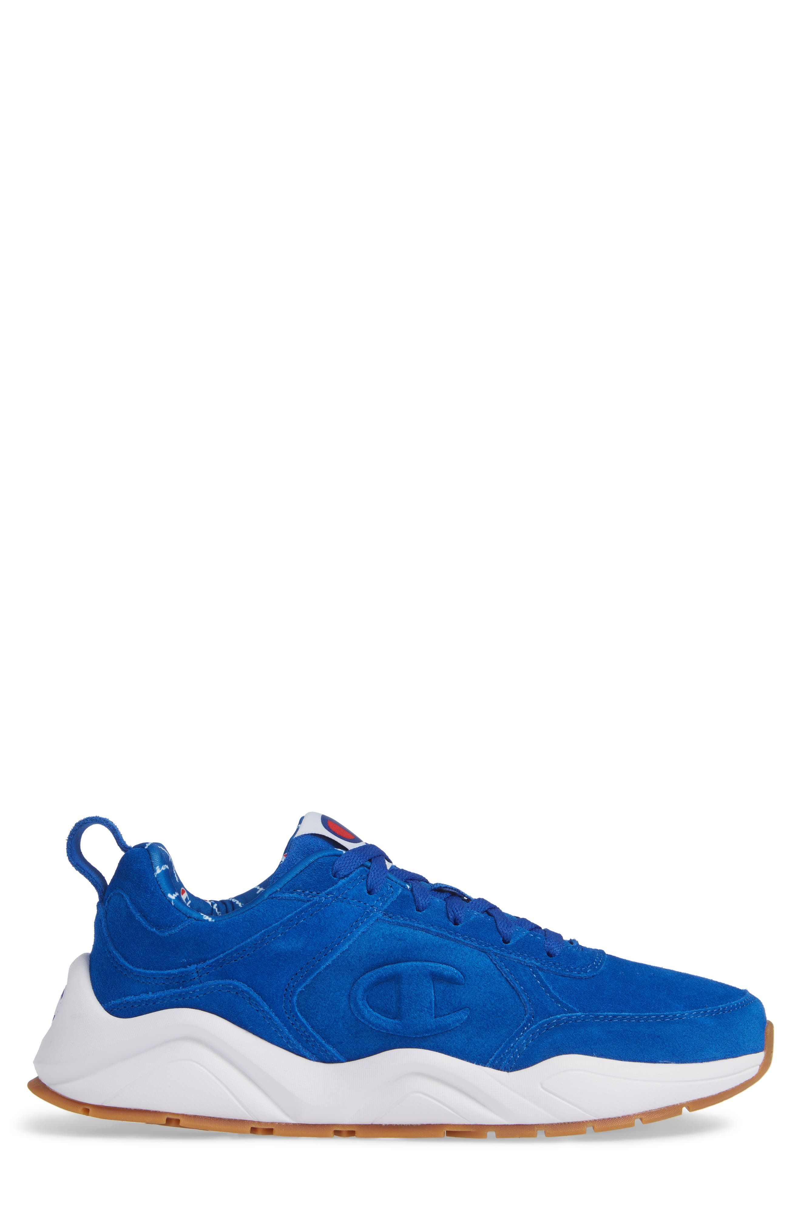 93Eighteen Sneaker,                             Alternate thumbnail 3, color,                             BLUE SUEDE