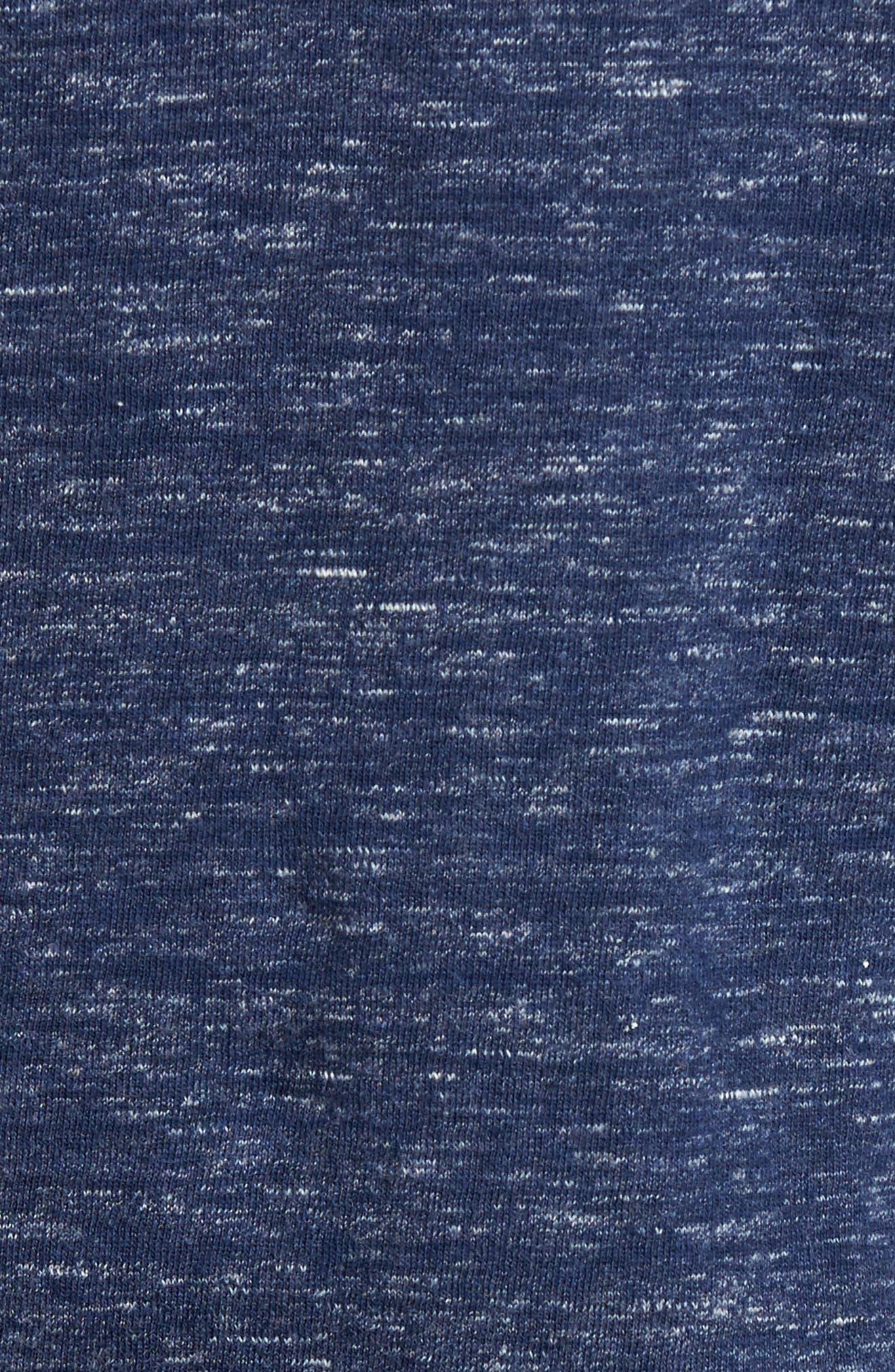 Blake Double Cloth Henley Hoodie,                             Alternate thumbnail 5, color,                             434