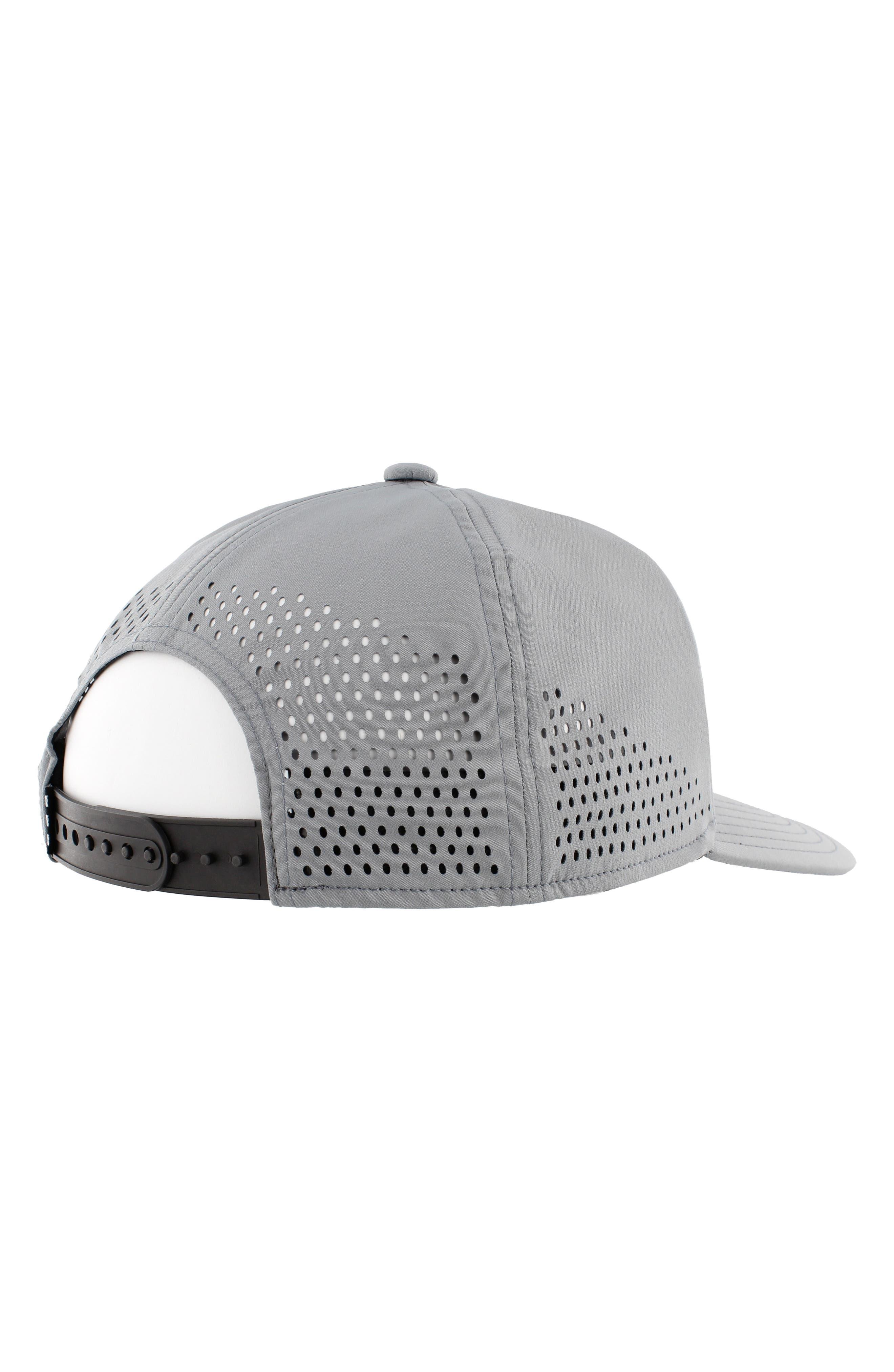 Tech Ventilated Baseball Cap,                             Alternate thumbnail 2, color,                             MED GREY