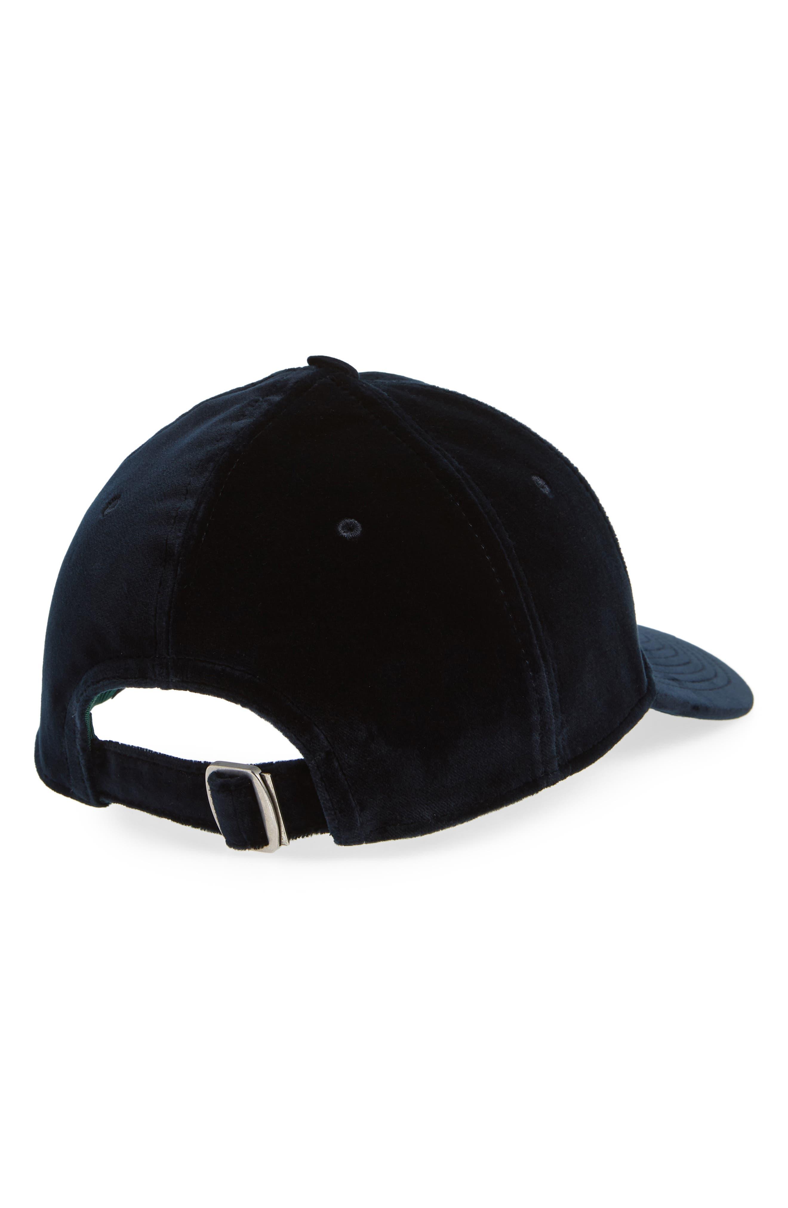 Velvet Baseball Cap,                             Alternate thumbnail 2, color,                             400