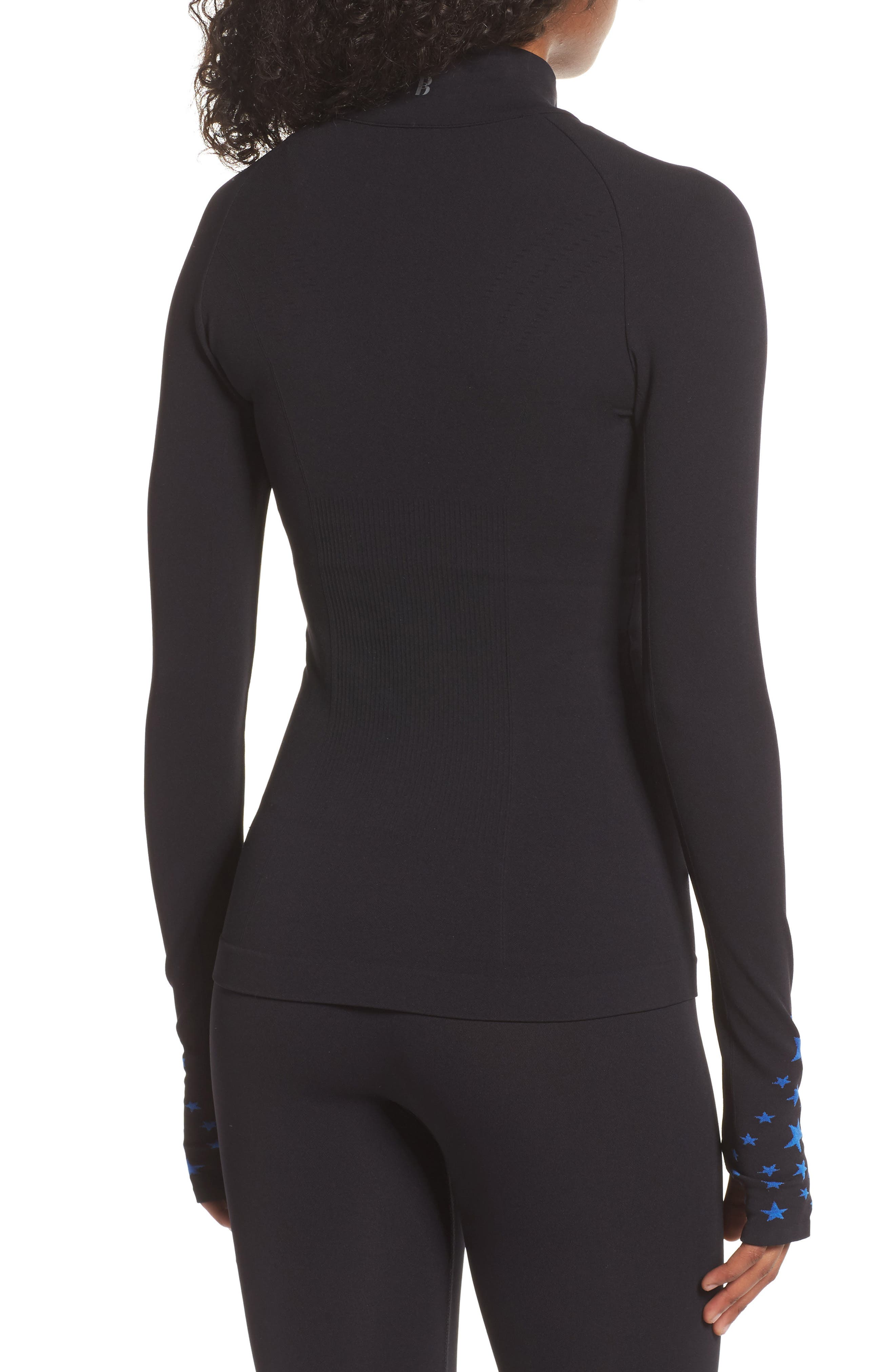 BoomBoom Athletica Seamless Star Jacket,                             Alternate thumbnail 2, color,                             006