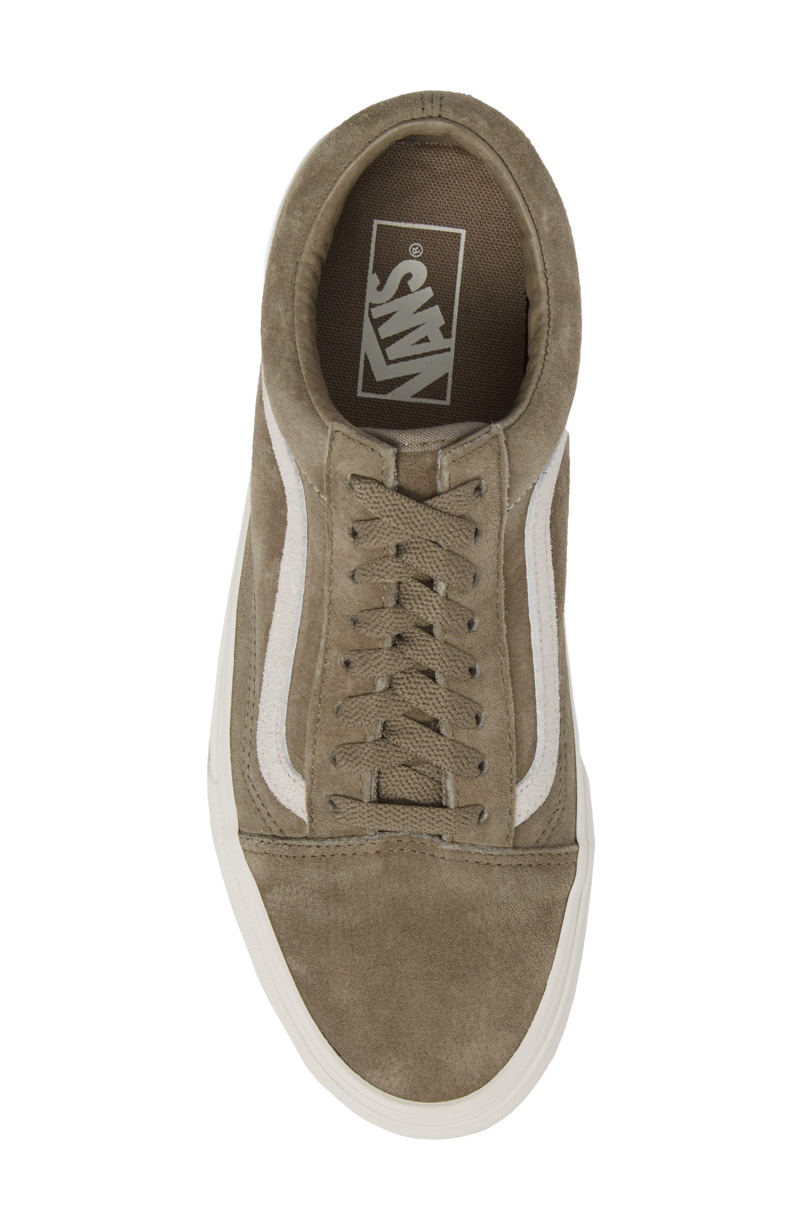 Suede Old Skool Sneaker,                             Alternate thumbnail 5, color,                             020