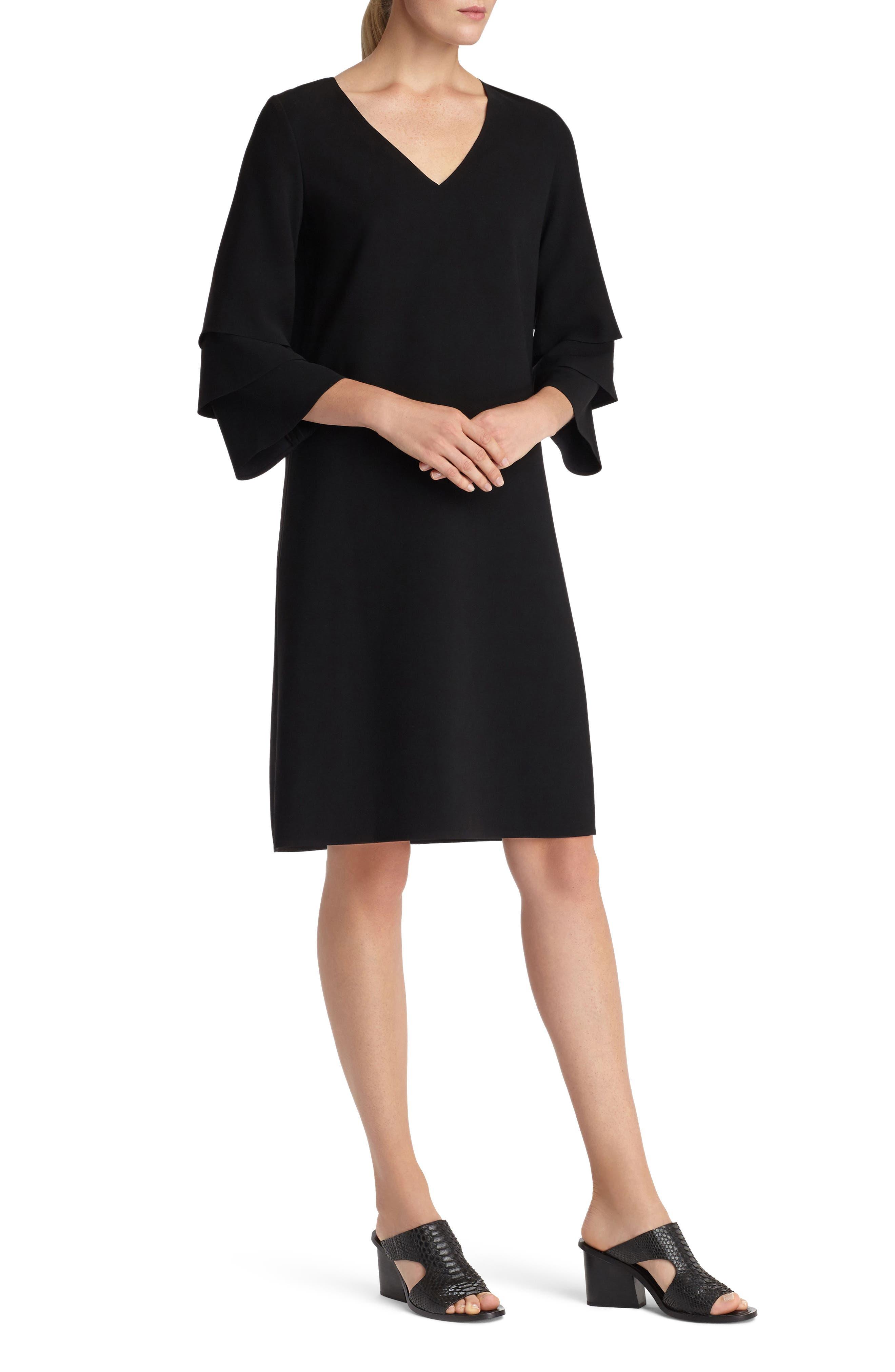 Velez Finesse Crepe Shift Dress,                         Main,                         color,