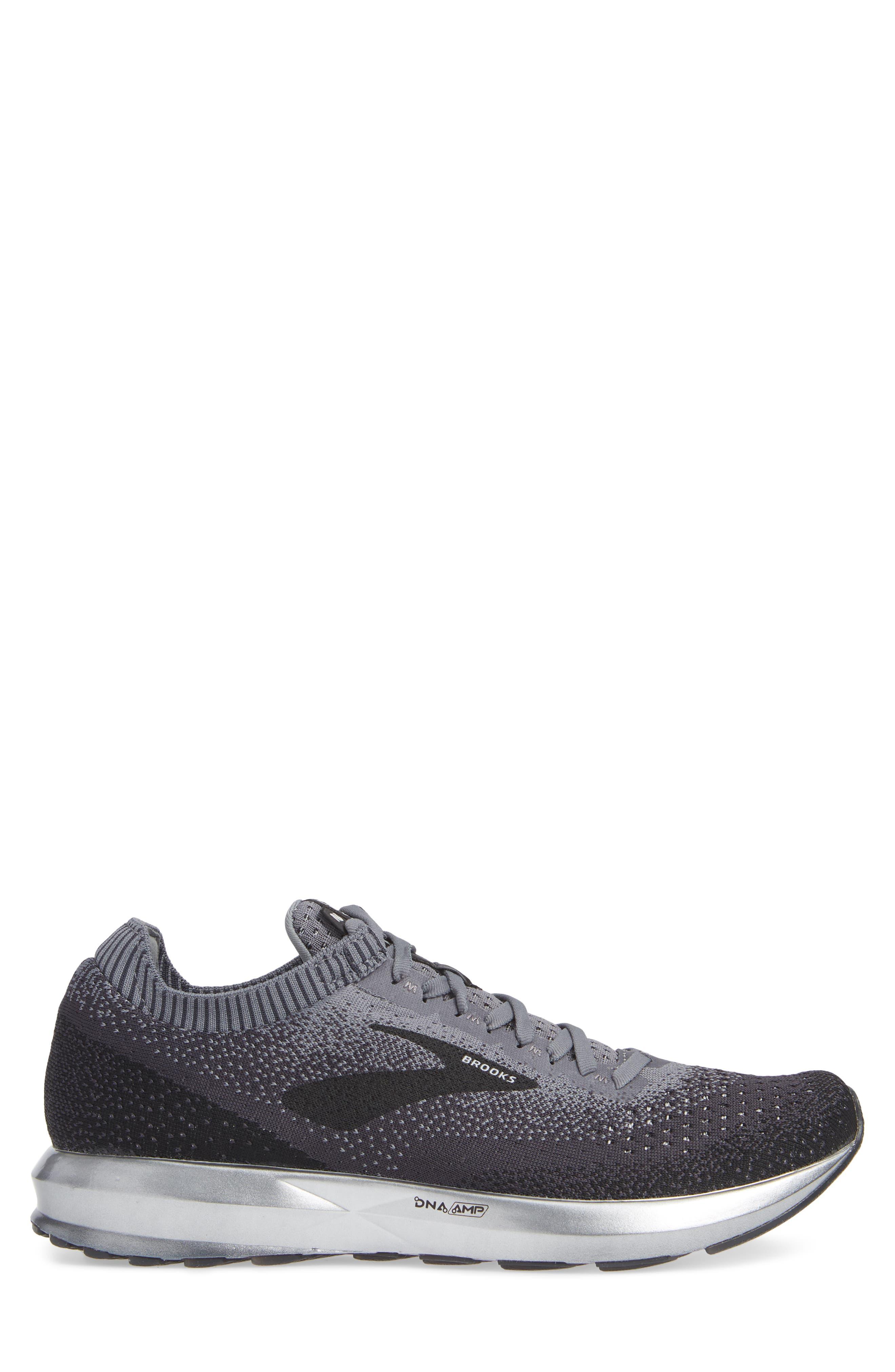 Levitate 2 Running Shoe,                             Alternate thumbnail 3, color,                             BLACK/ GREY/ EBONY