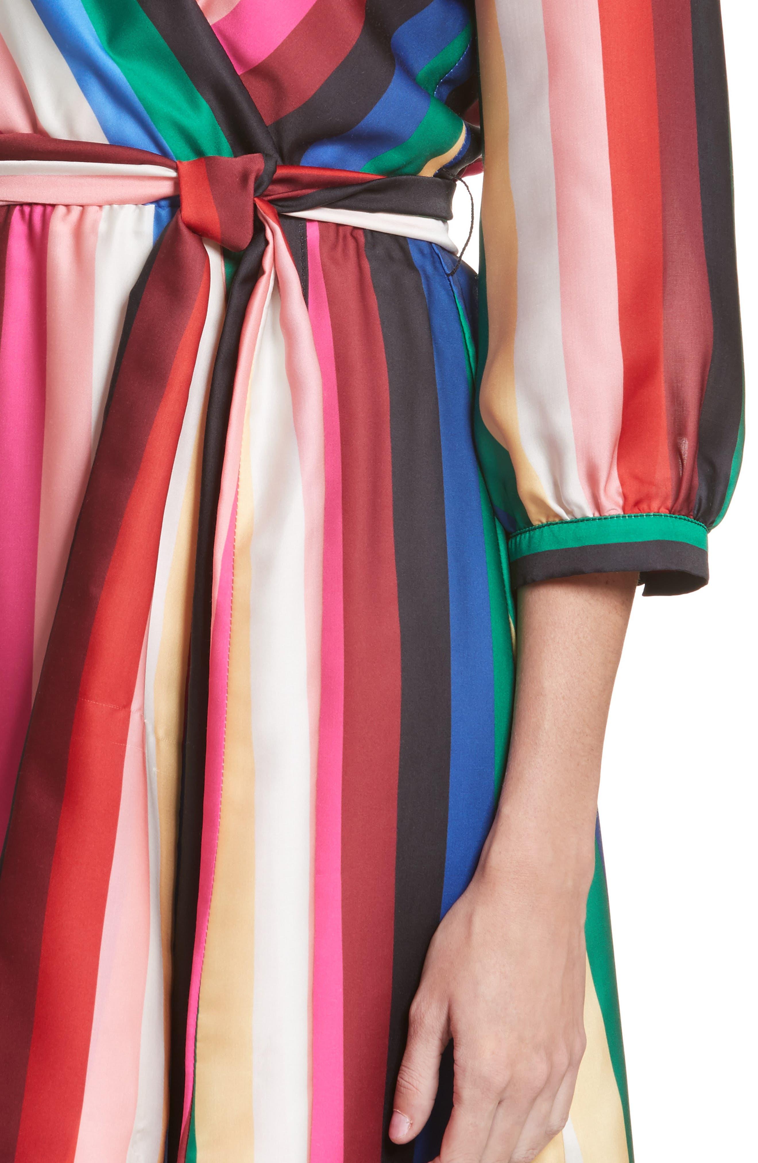 Dyanna Midi Dress,                             Alternate thumbnail 4, color,                             607