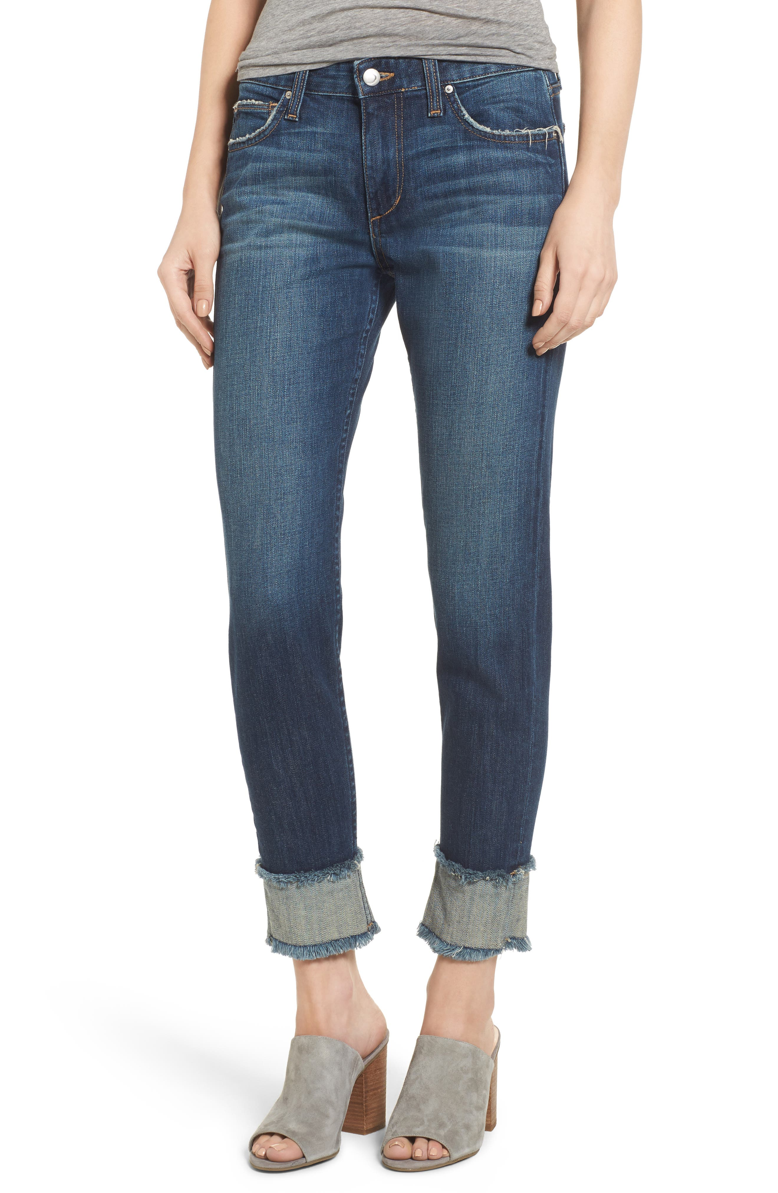 Smith Crop Boyfriend Jeans,                         Main,                         color, 411