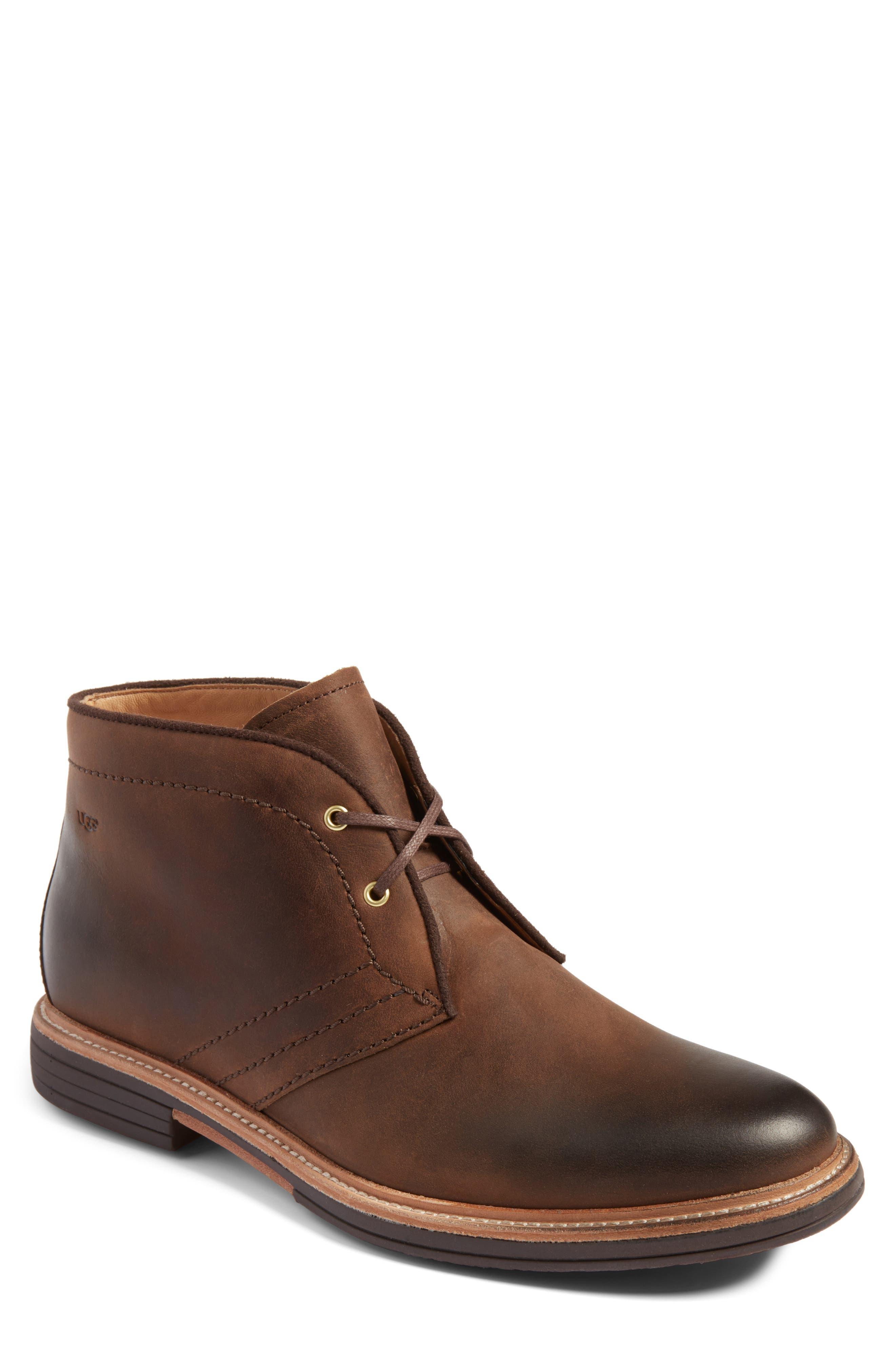 Australia Dagmann Chukka Boot,                         Main,                         color, GRIZZLY