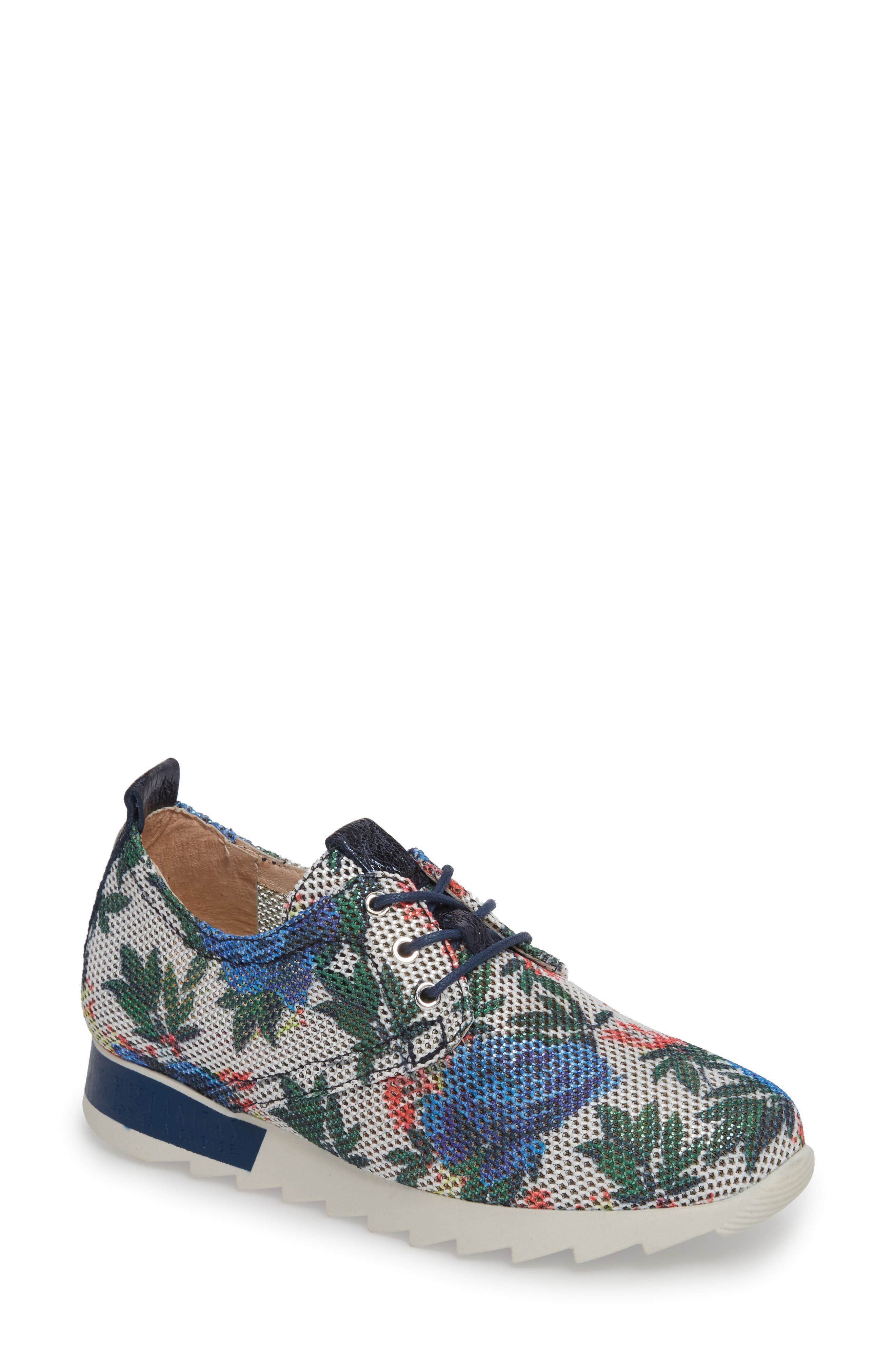 Breezi Perforated Sneaker,                             Main thumbnail 1, color,                             GINSEN LEATHER