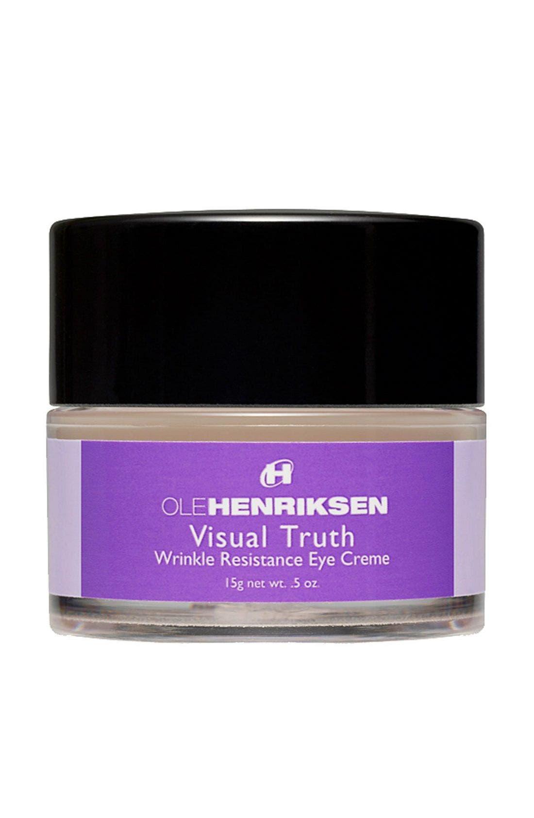 'Visual Truth' Eye Creme, Main, color, 000