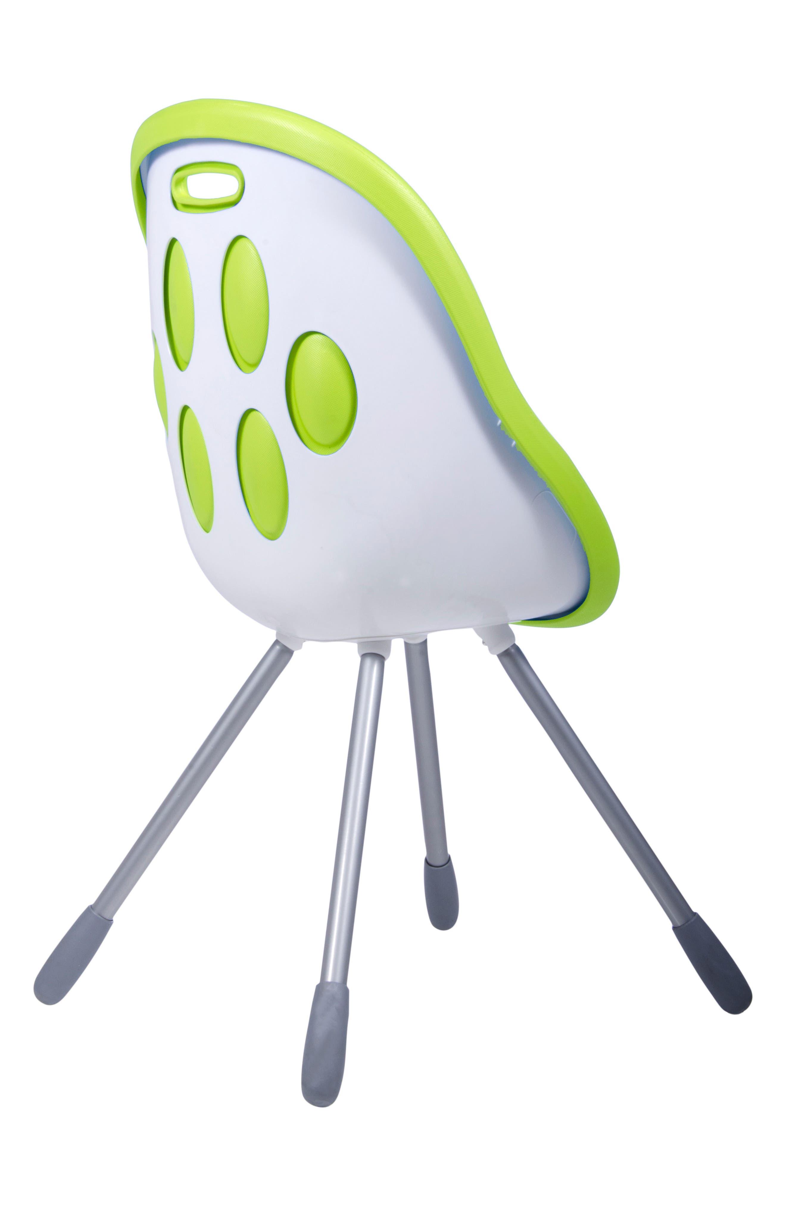 Poppy High Chair,                             Alternate thumbnail 2, color,                             LIME