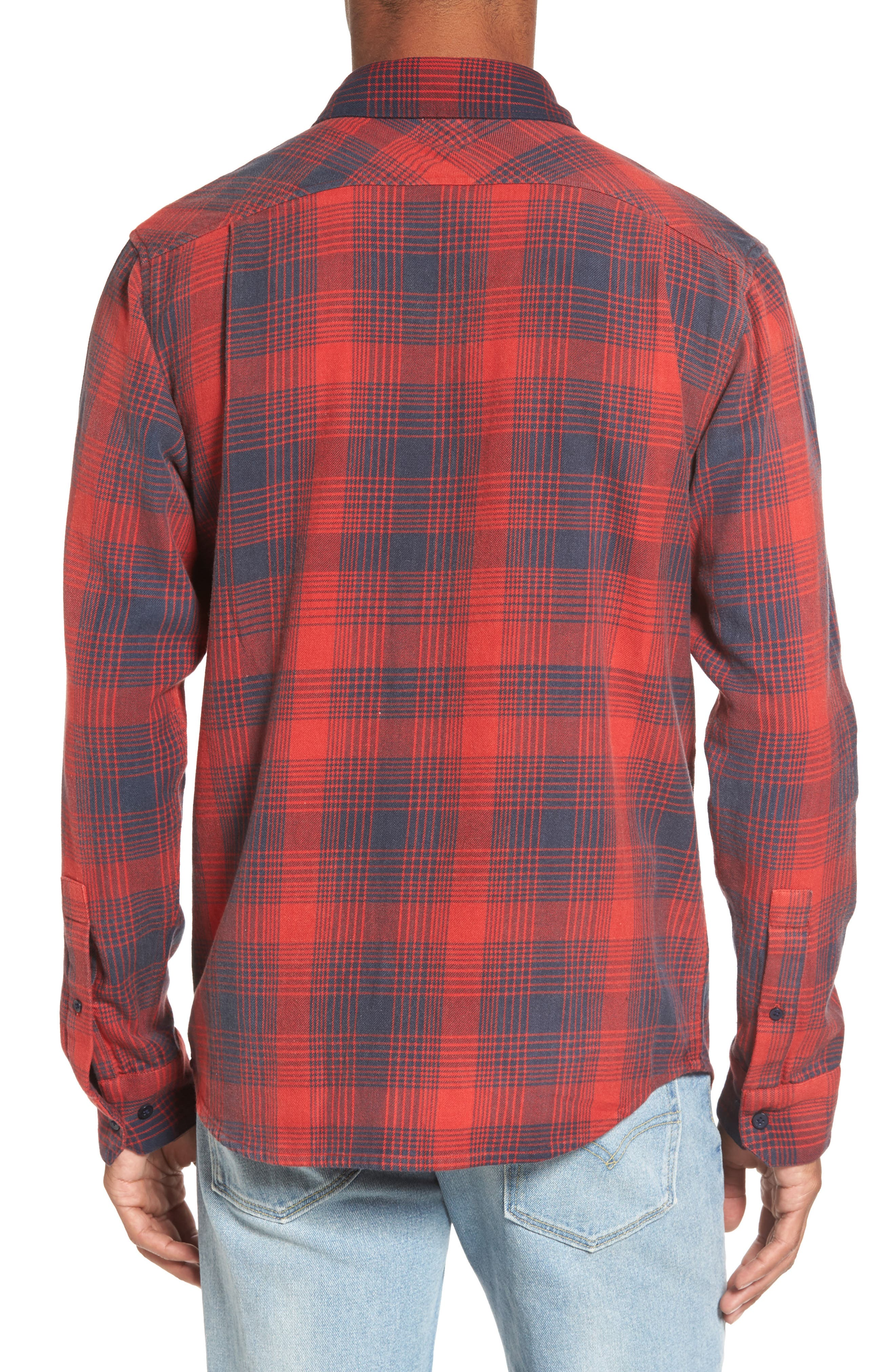 Plaid Woven Shirt,                             Alternate thumbnail 2, color,                             620