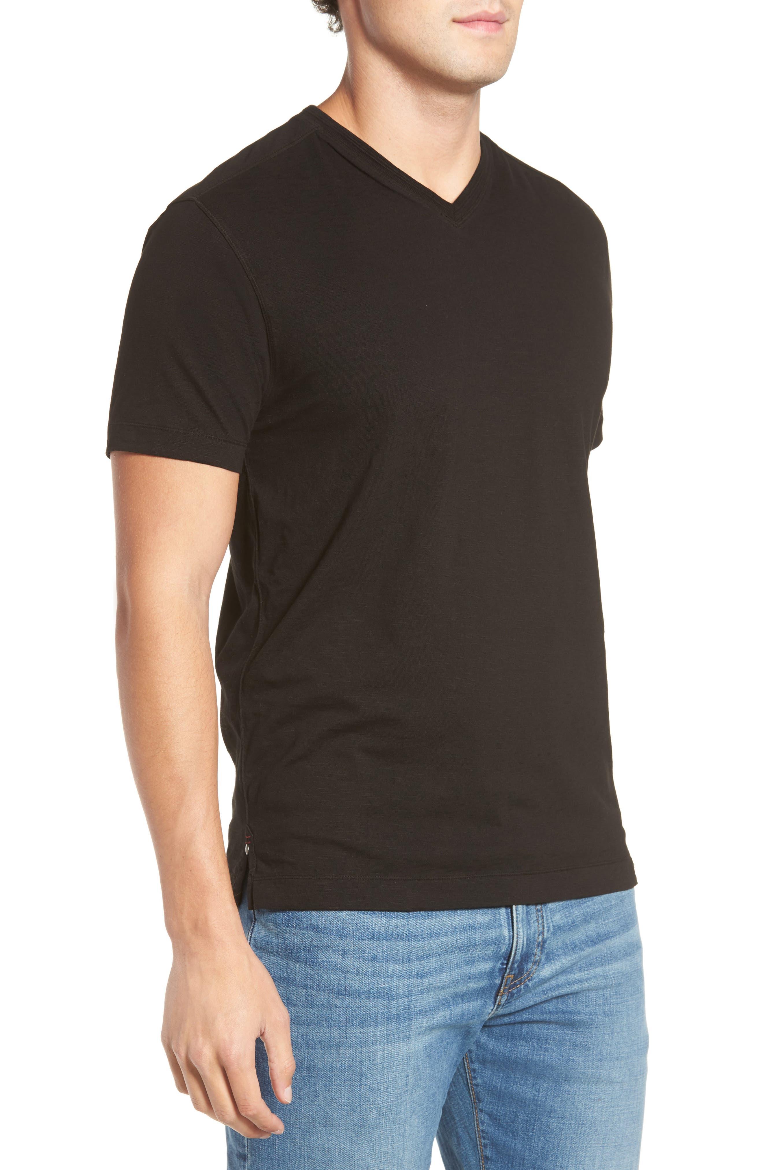 Virgil Stretch Jersey T-Shirt,                             Alternate thumbnail 3, color,                             001