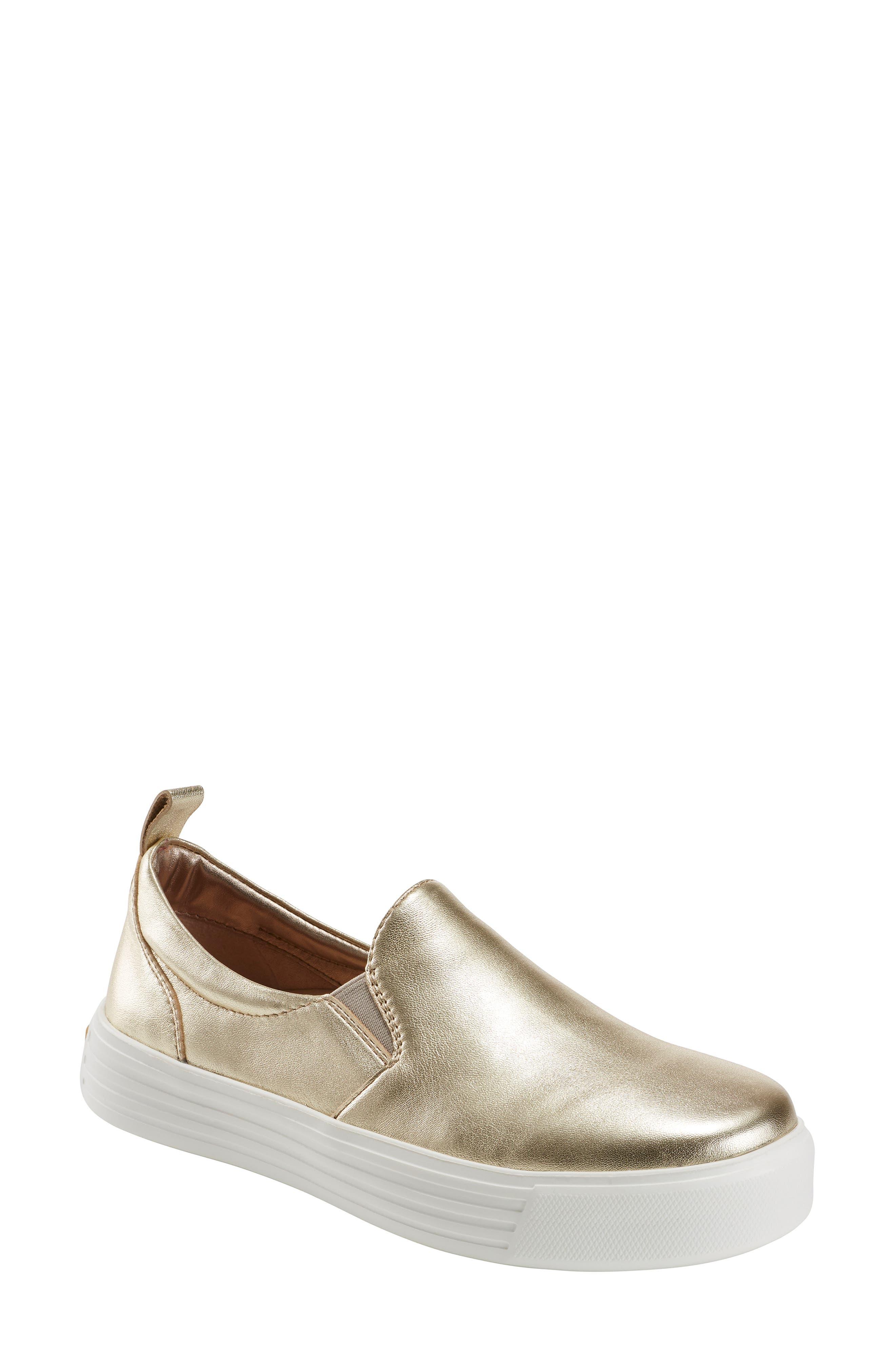 Earth Clove Sneaker, Metallic