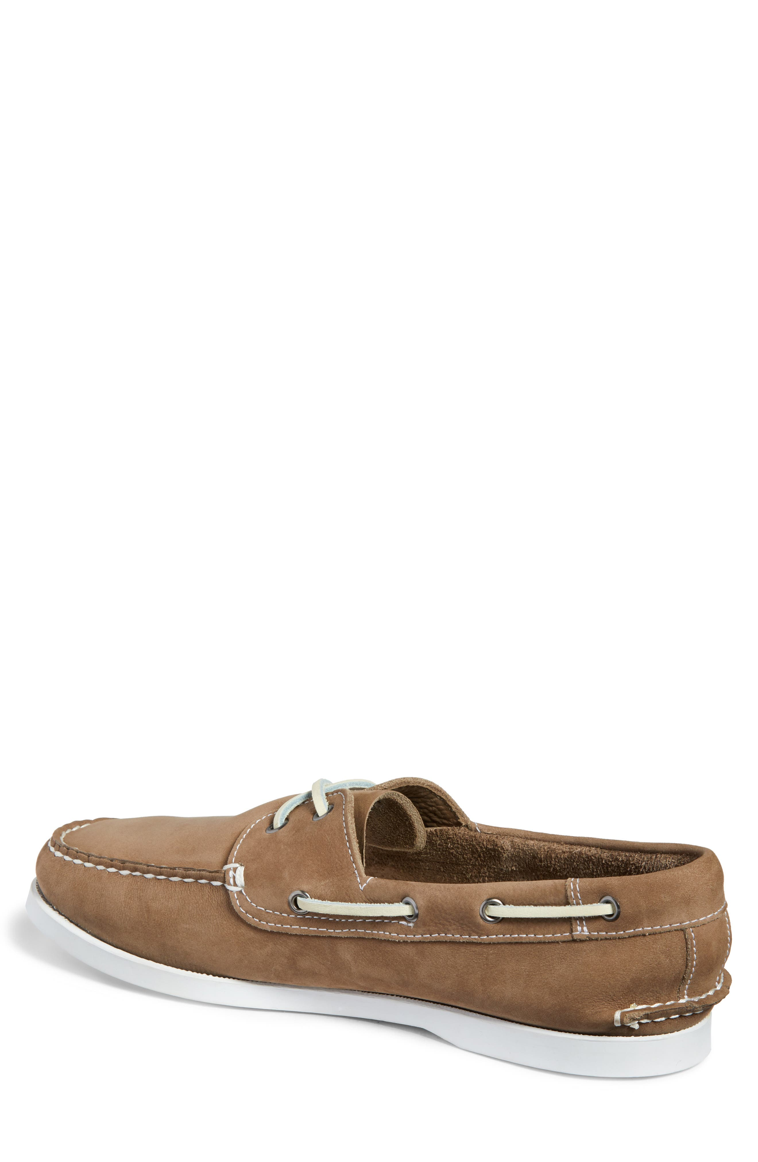 Pacific Boat Shoe,                             Alternate thumbnail 2, color,                             GREY NUBUCK