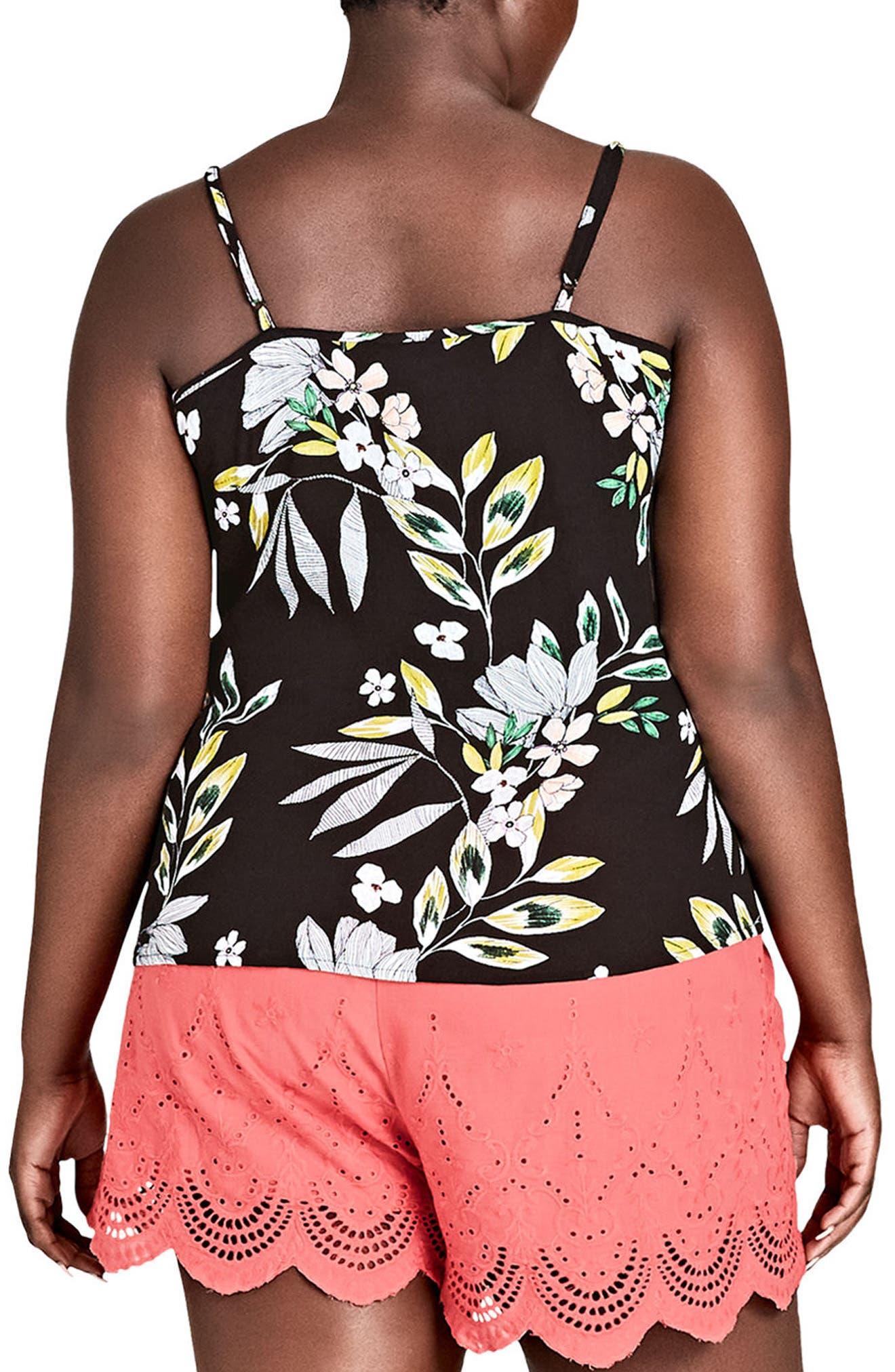 Maui Floral Top,                             Alternate thumbnail 2, color,                             MAUI FLORAL
