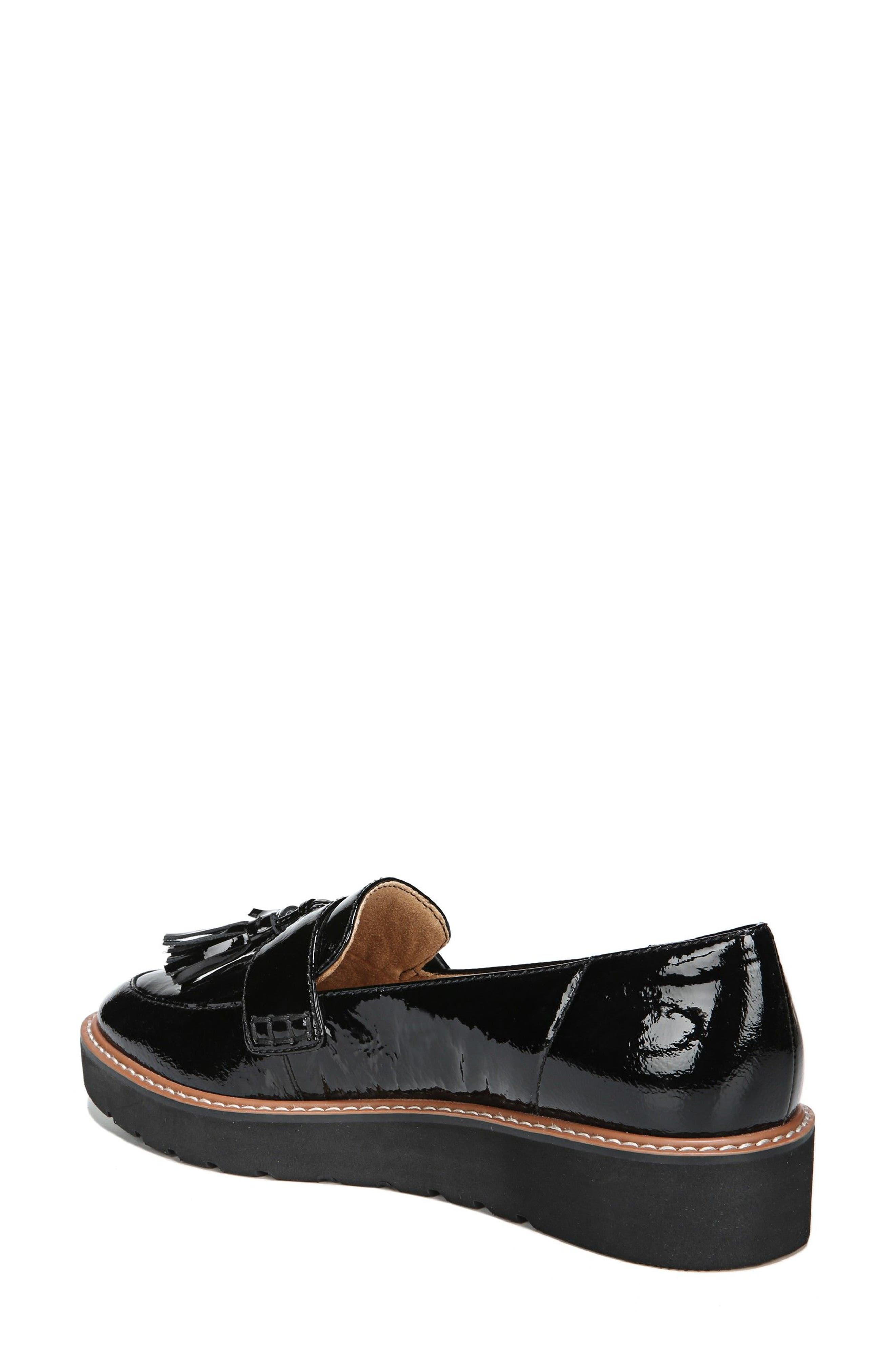 August Loafer,                             Alternate thumbnail 2, color,                             BLACK PATENT LEATHER