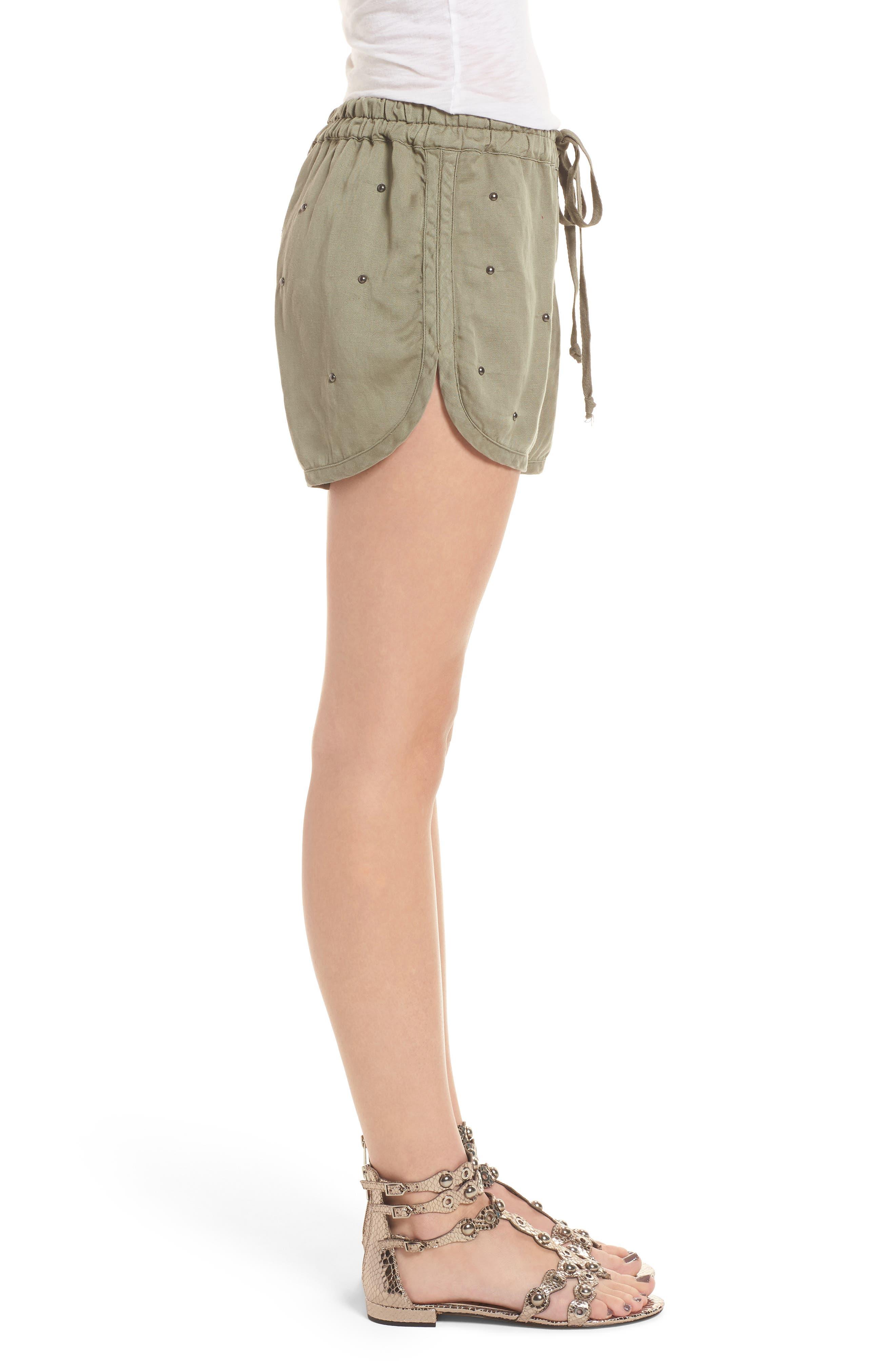 Thatcher Drawstring Shorts,                             Alternate thumbnail 3, color,                             307