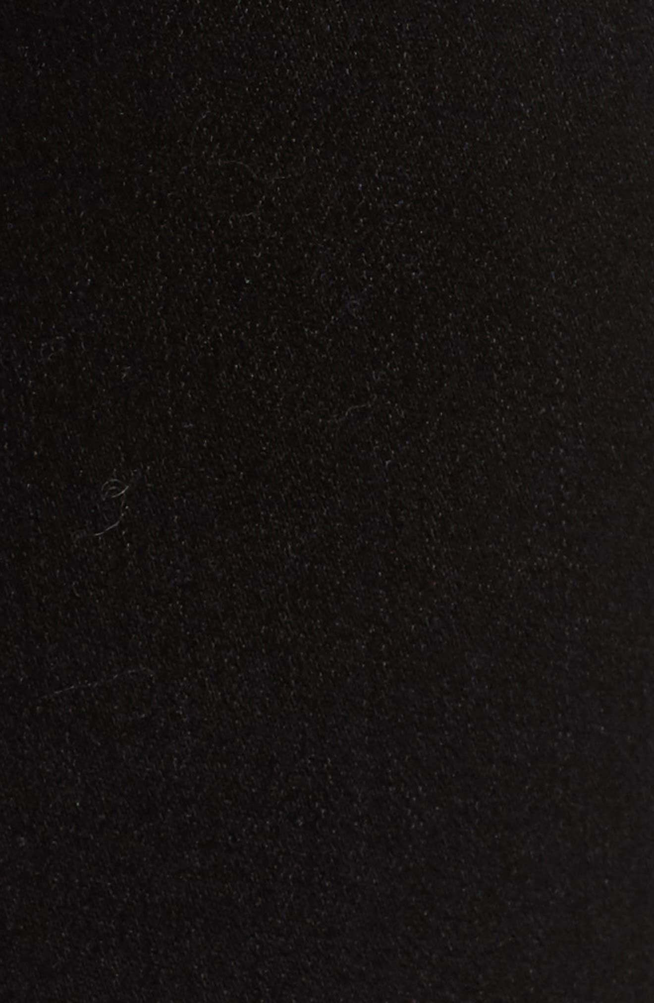 Ami Slash Knee Stretch Skinny Jeans,                             Alternate thumbnail 5, color,                             008