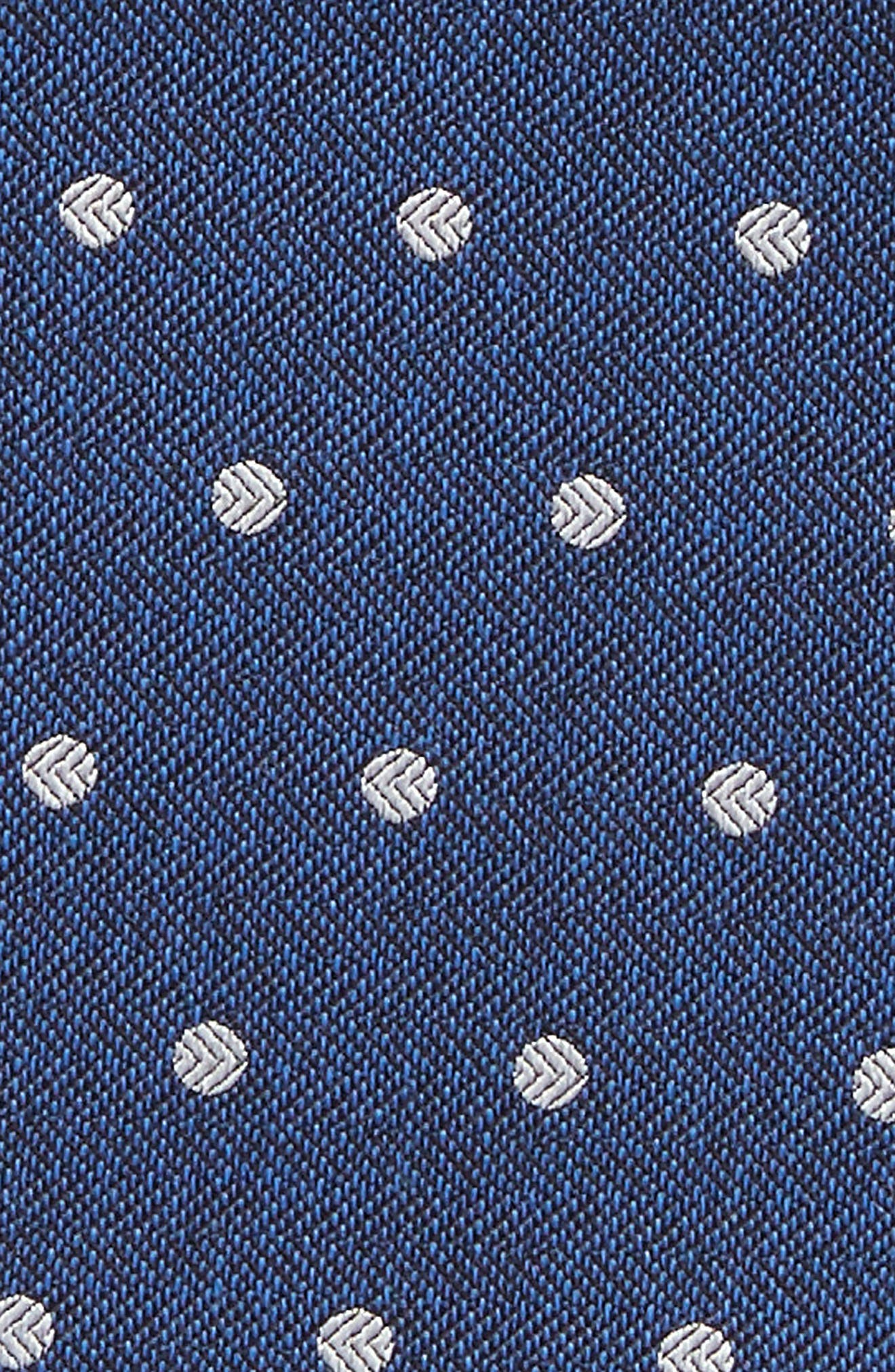 Dot Hitch Pocket Square,                             Alternate thumbnail 8, color,