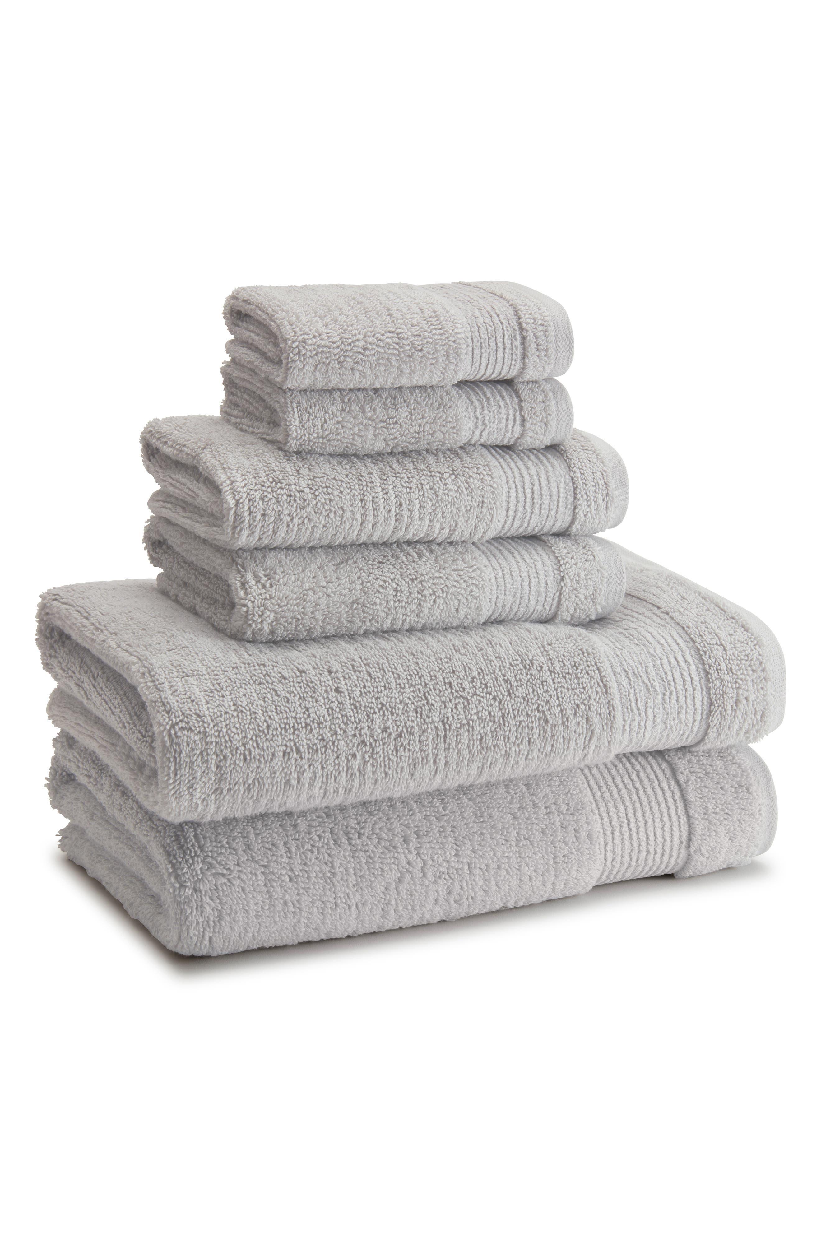 Pergamon Bath Towel,                             Main thumbnail 1, color,                             PLATINUM