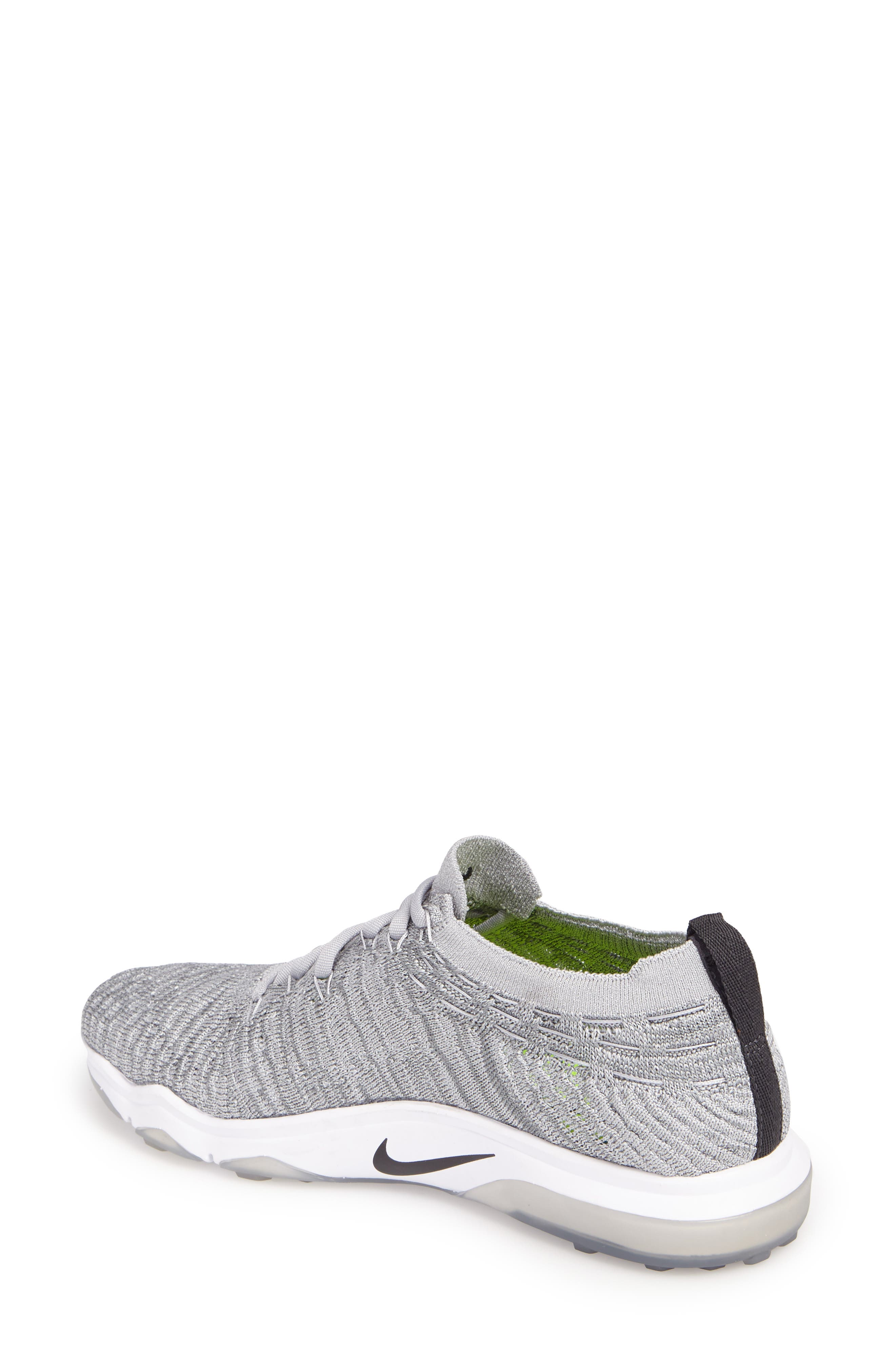 Air Zoom Fearless Flyknit Lux Training Shoe,                             Alternate thumbnail 8, color,