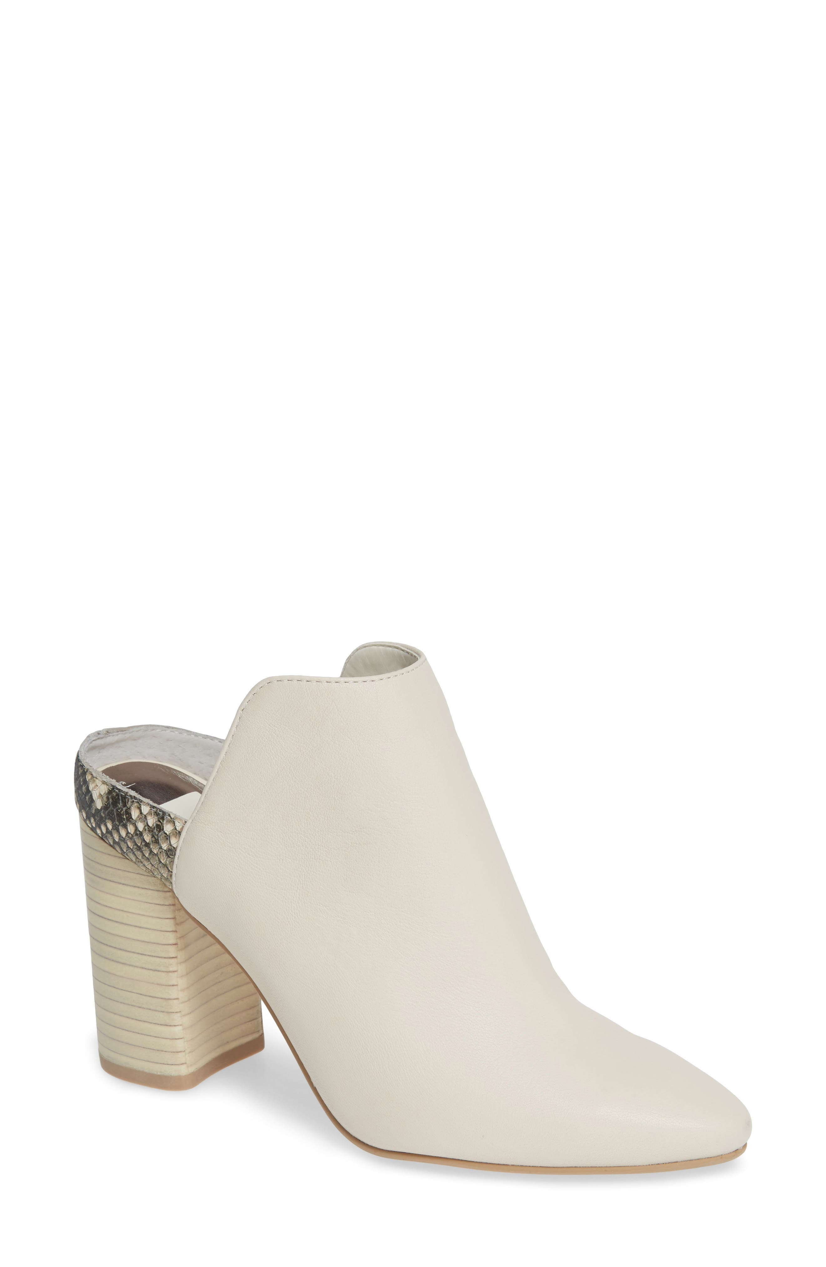 Renly Mule,                             Main thumbnail 1, color,                             IVORY