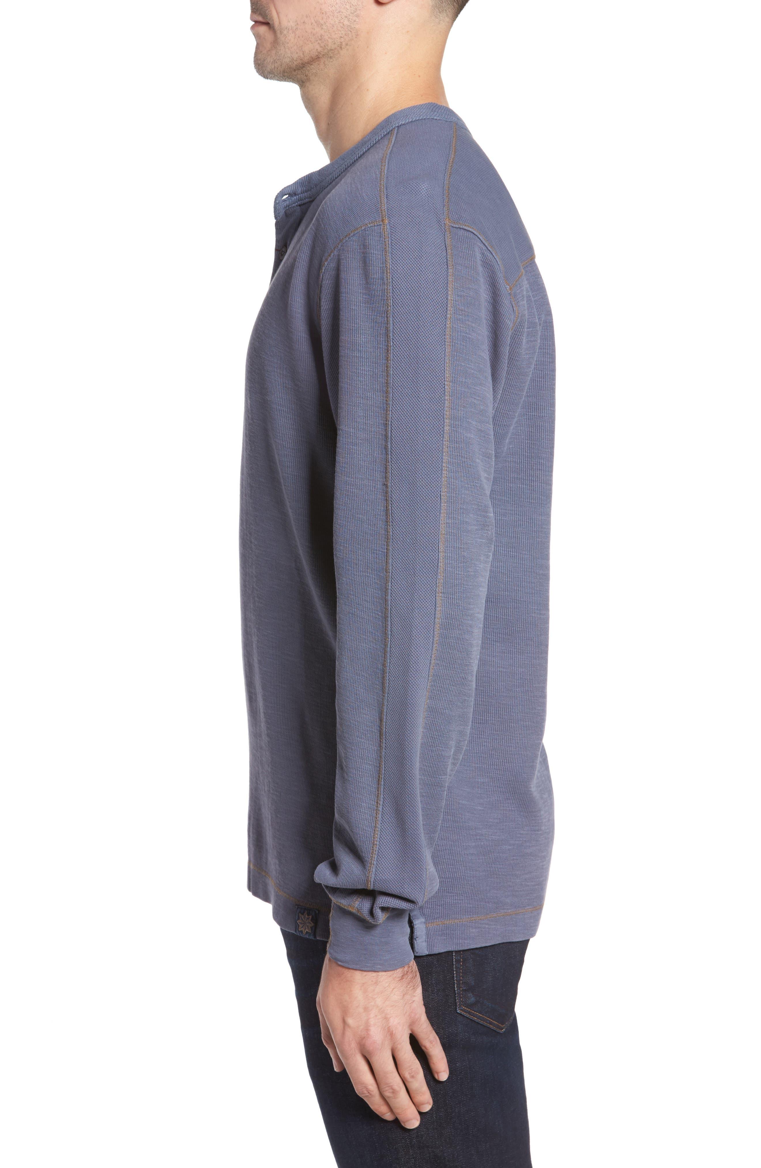 Hans Long Sleeve Henley T-Shirt,                             Alternate thumbnail 3, color,                             014