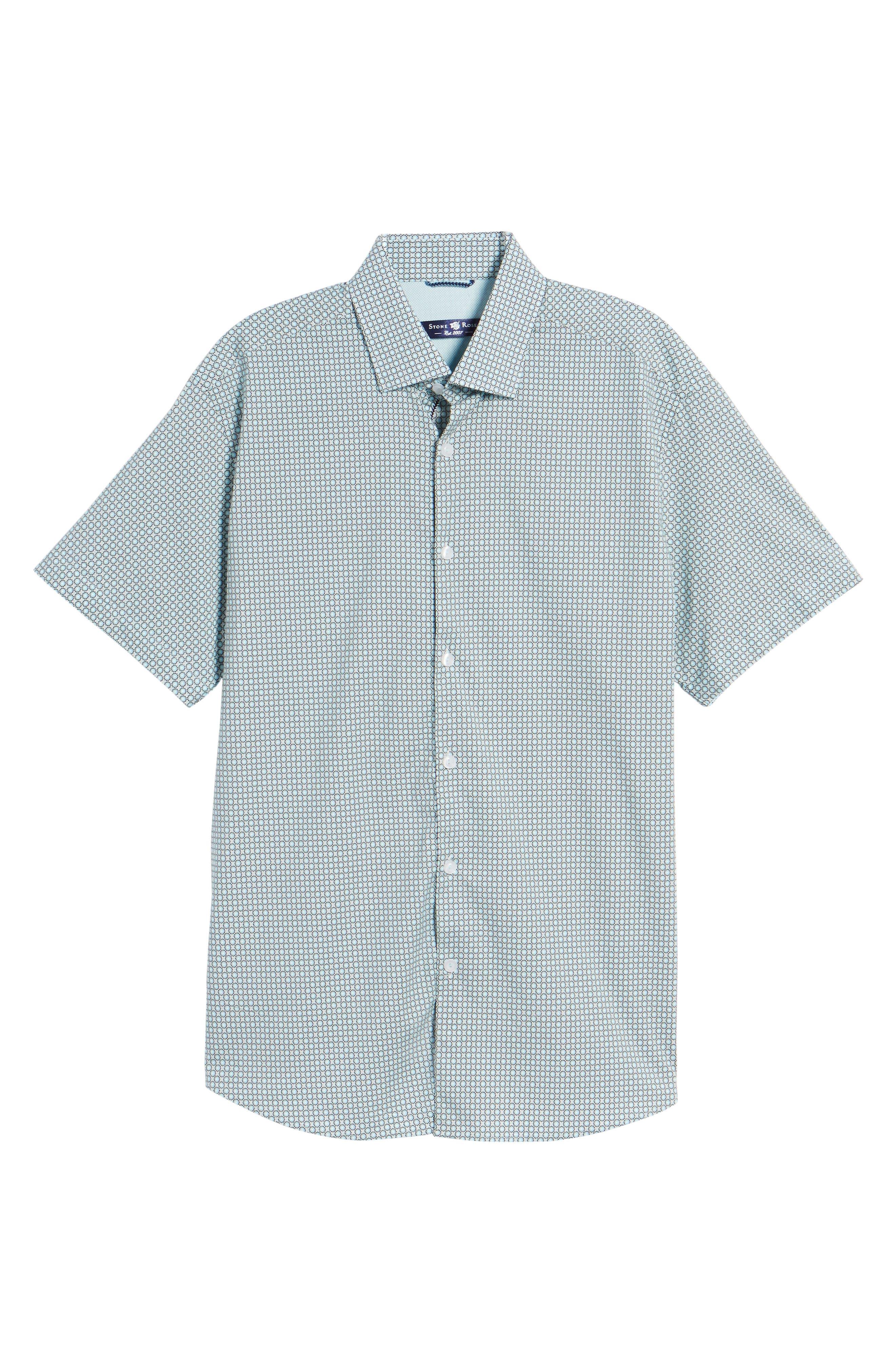 Woven Sport Shirt,                             Alternate thumbnail 6, color,                             020